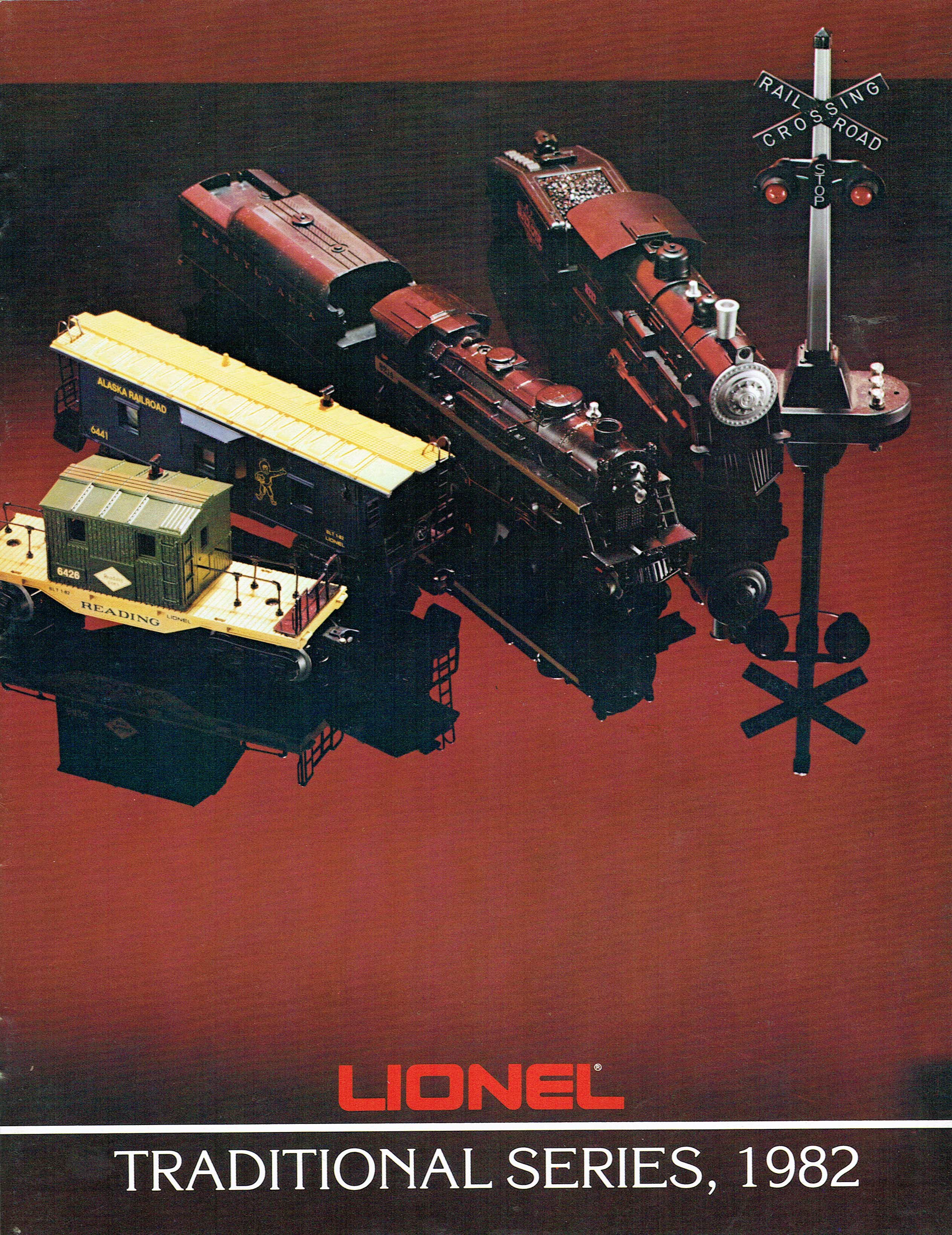 Lionel 1982 Traditional Series Catalog image