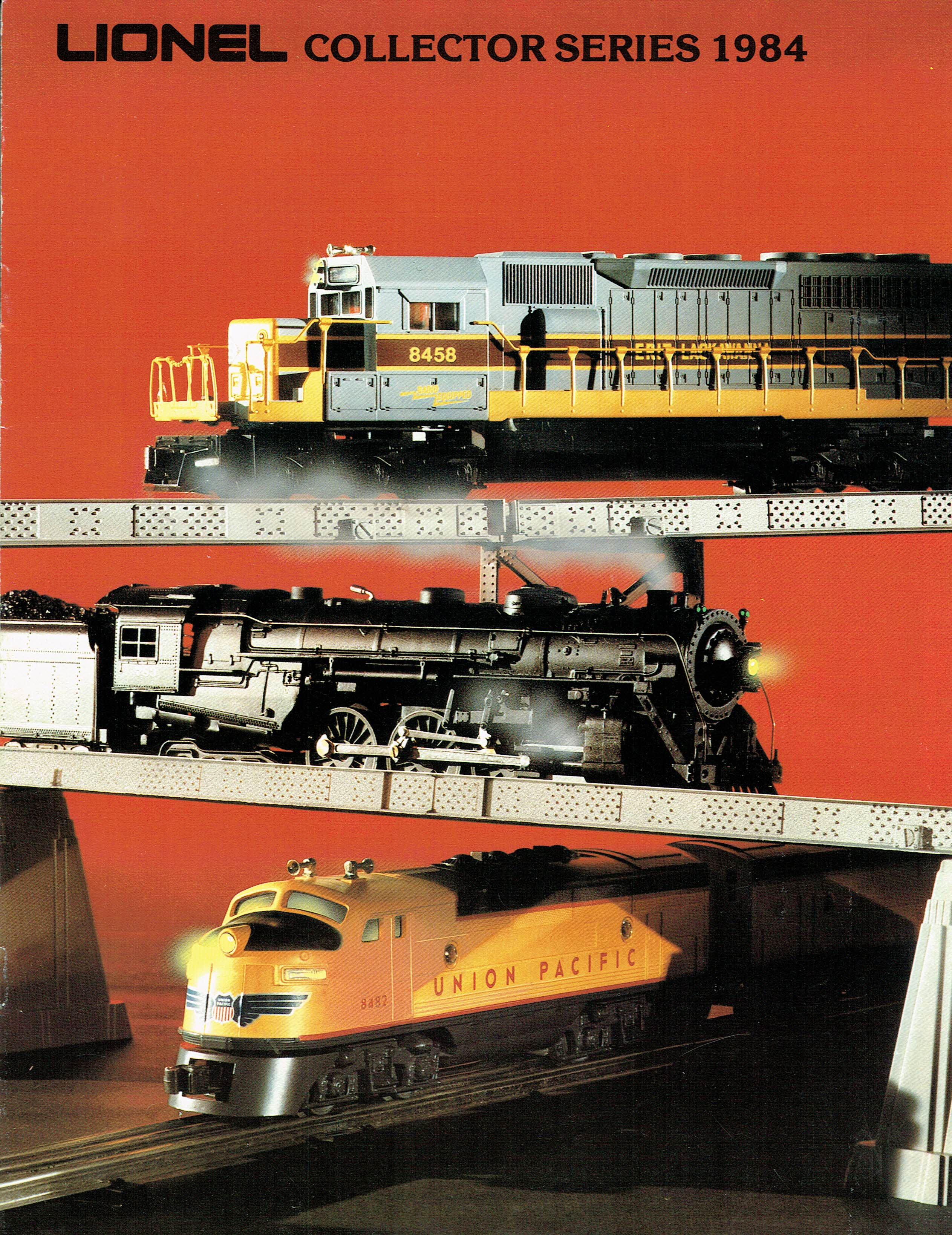 Lionel 1984 Collector Series Catalog image