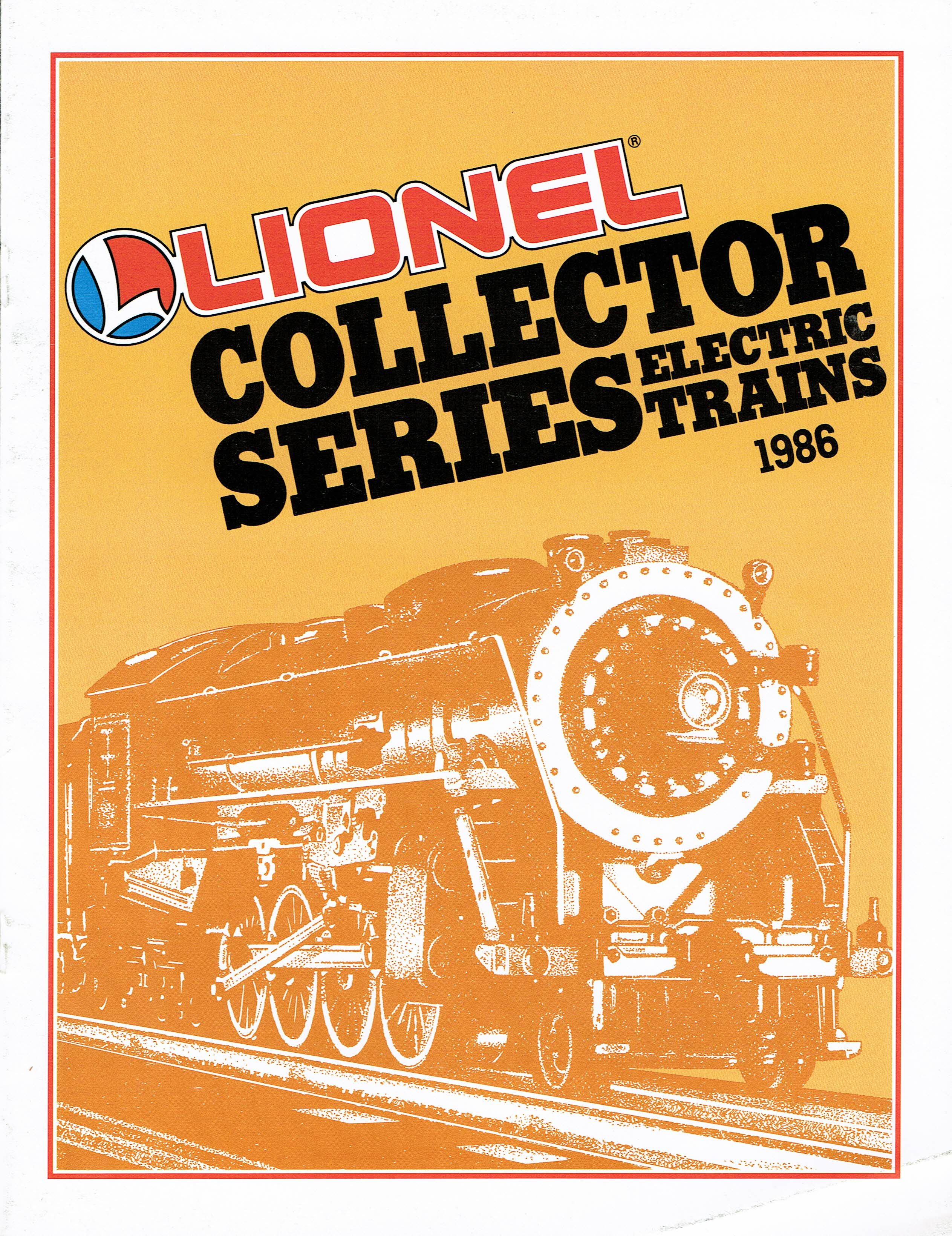 Lionel 1986 Collector Series Catalog image