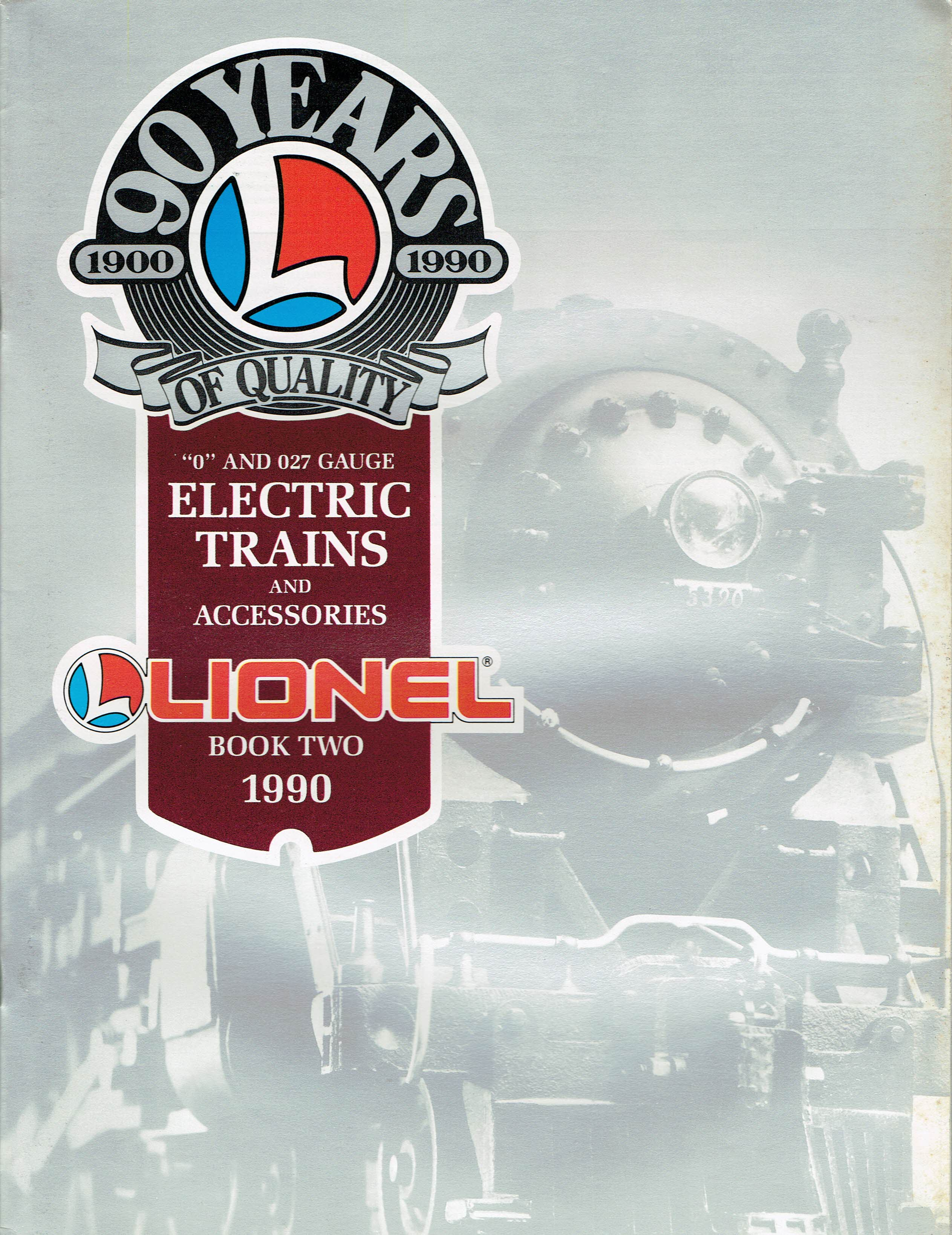 Lionel 1990 Book Two Catalog image
