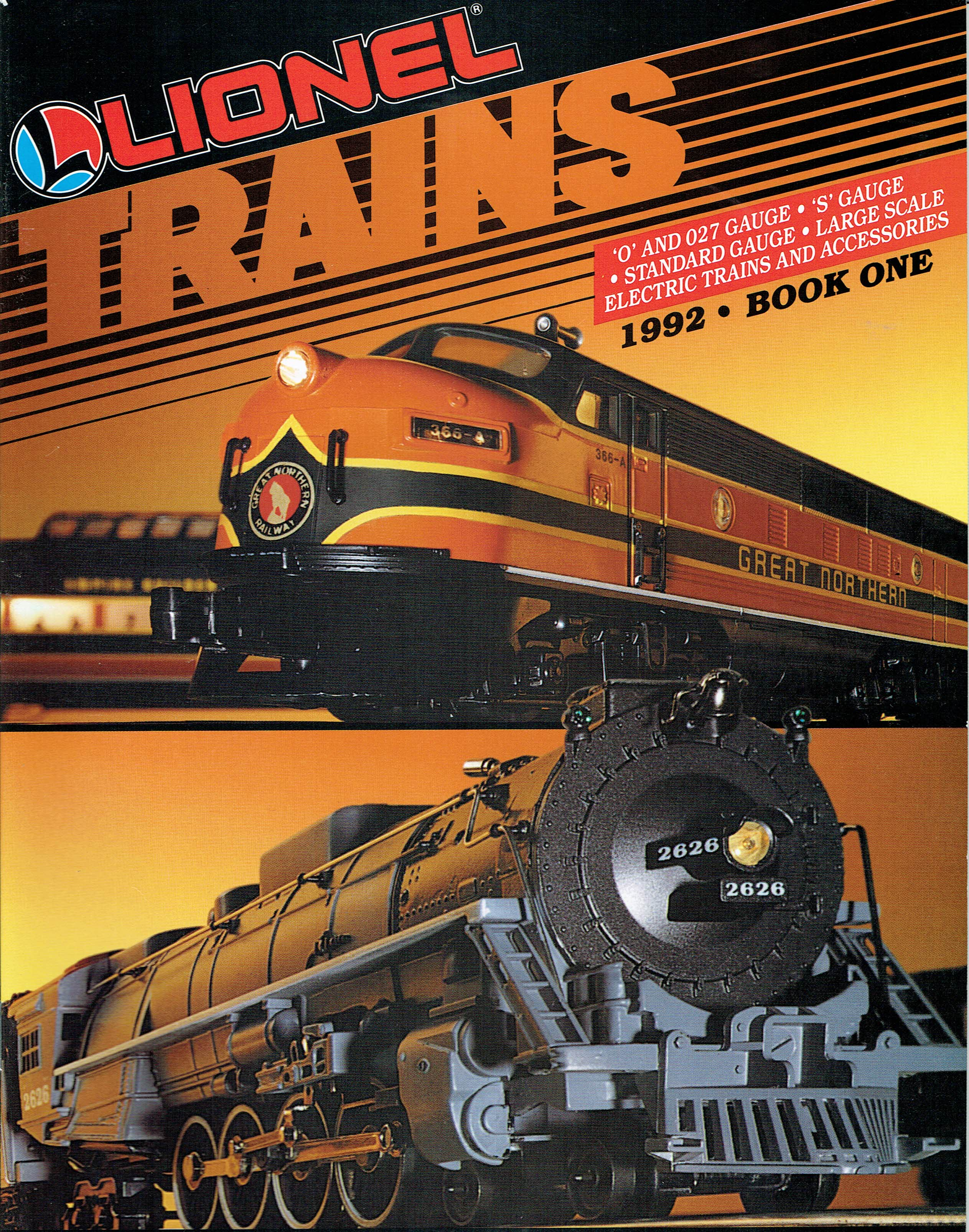 Lionel 1992 Book One Catalog image