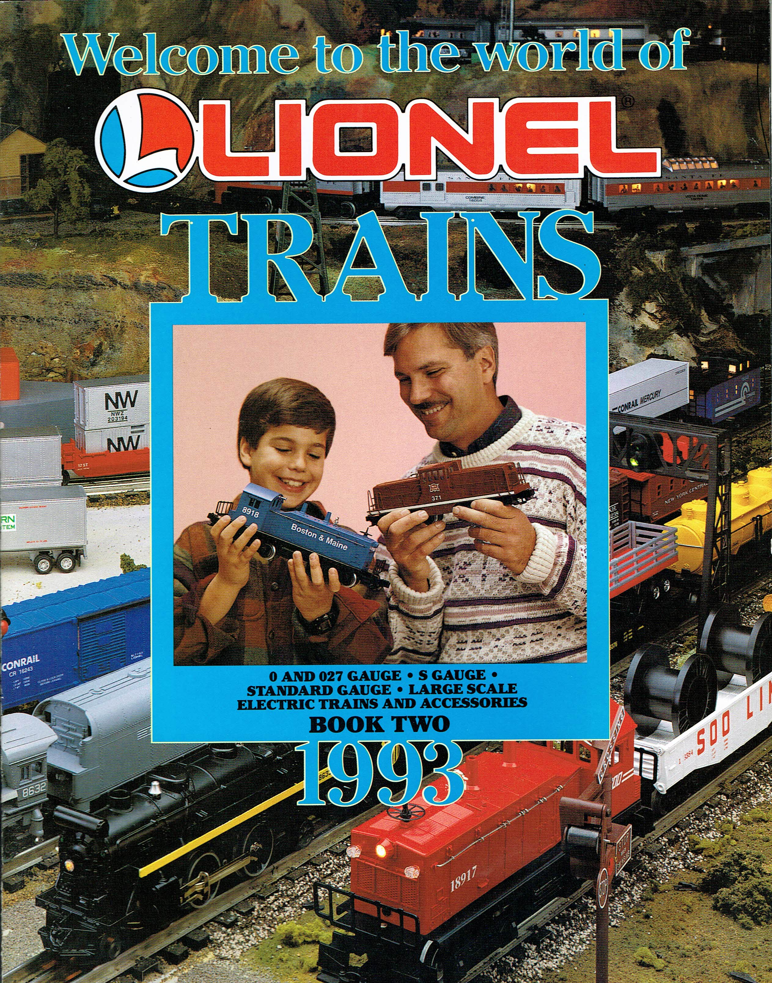 Lionel Trains Book Two 1993 Catalog image