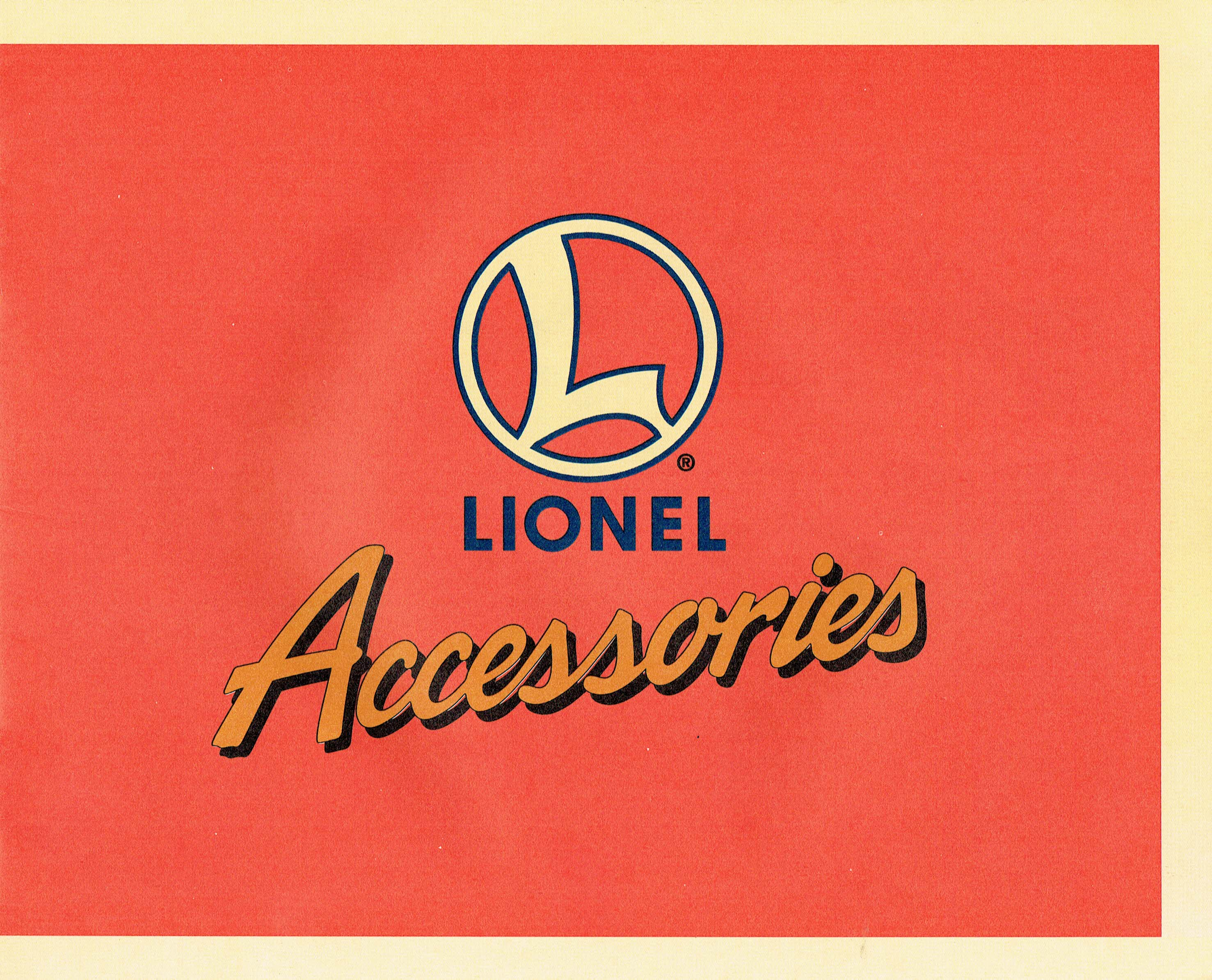 Lionel 1996 Accessories Catalog image