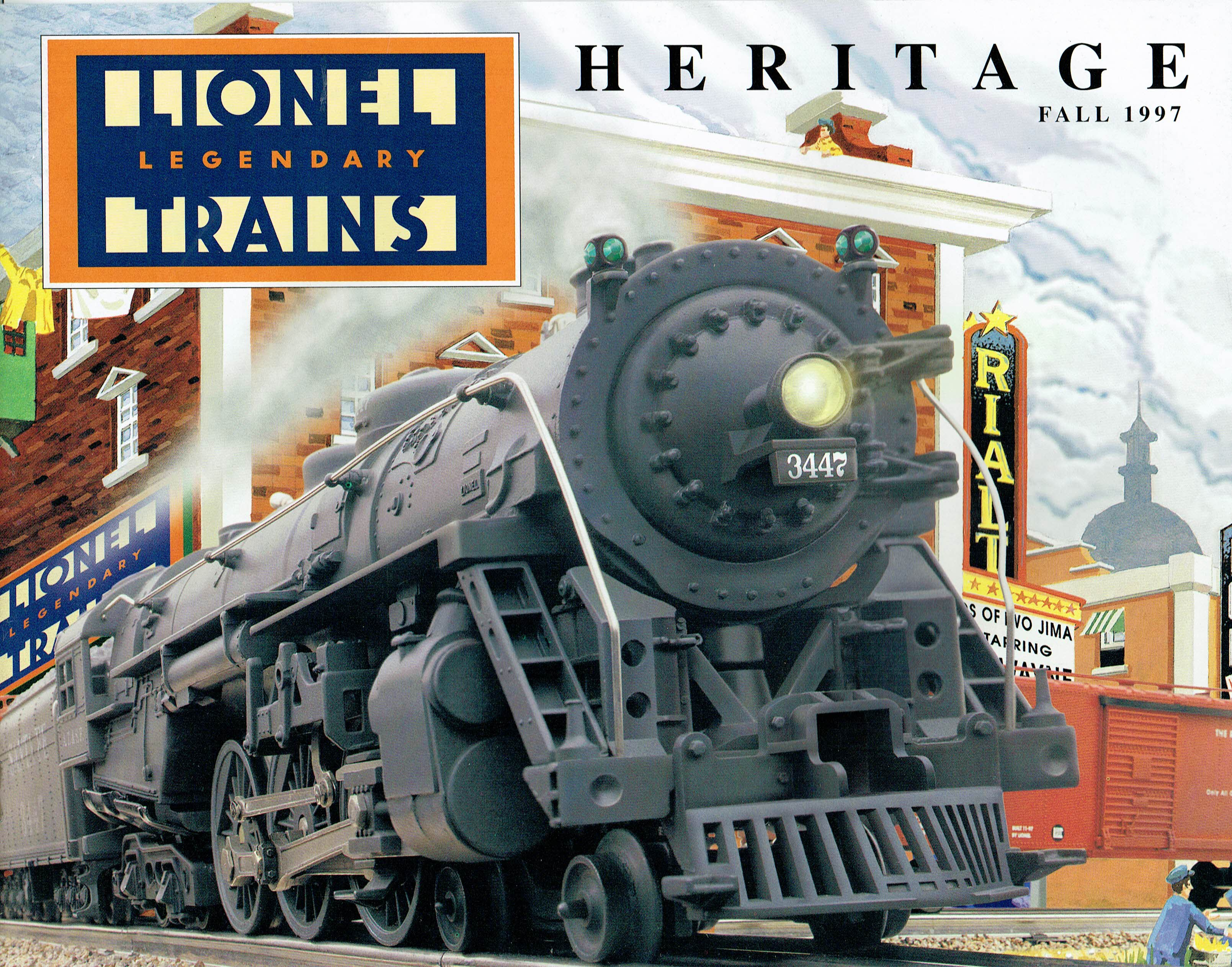 Lionel 1997 Heritage Fall Catalog image
