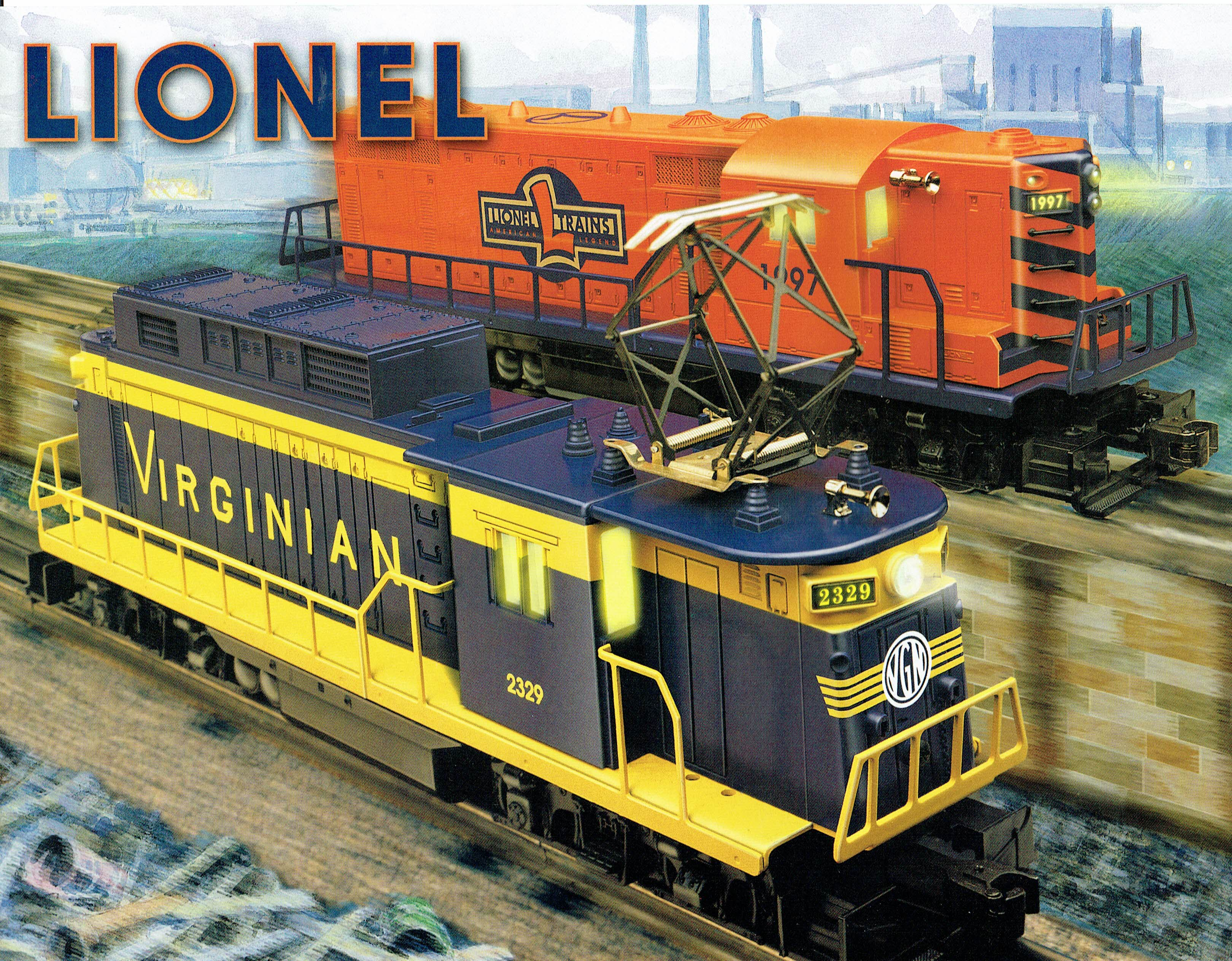 Lionel 1997 (Virginian Rectifier on cover) Flier image