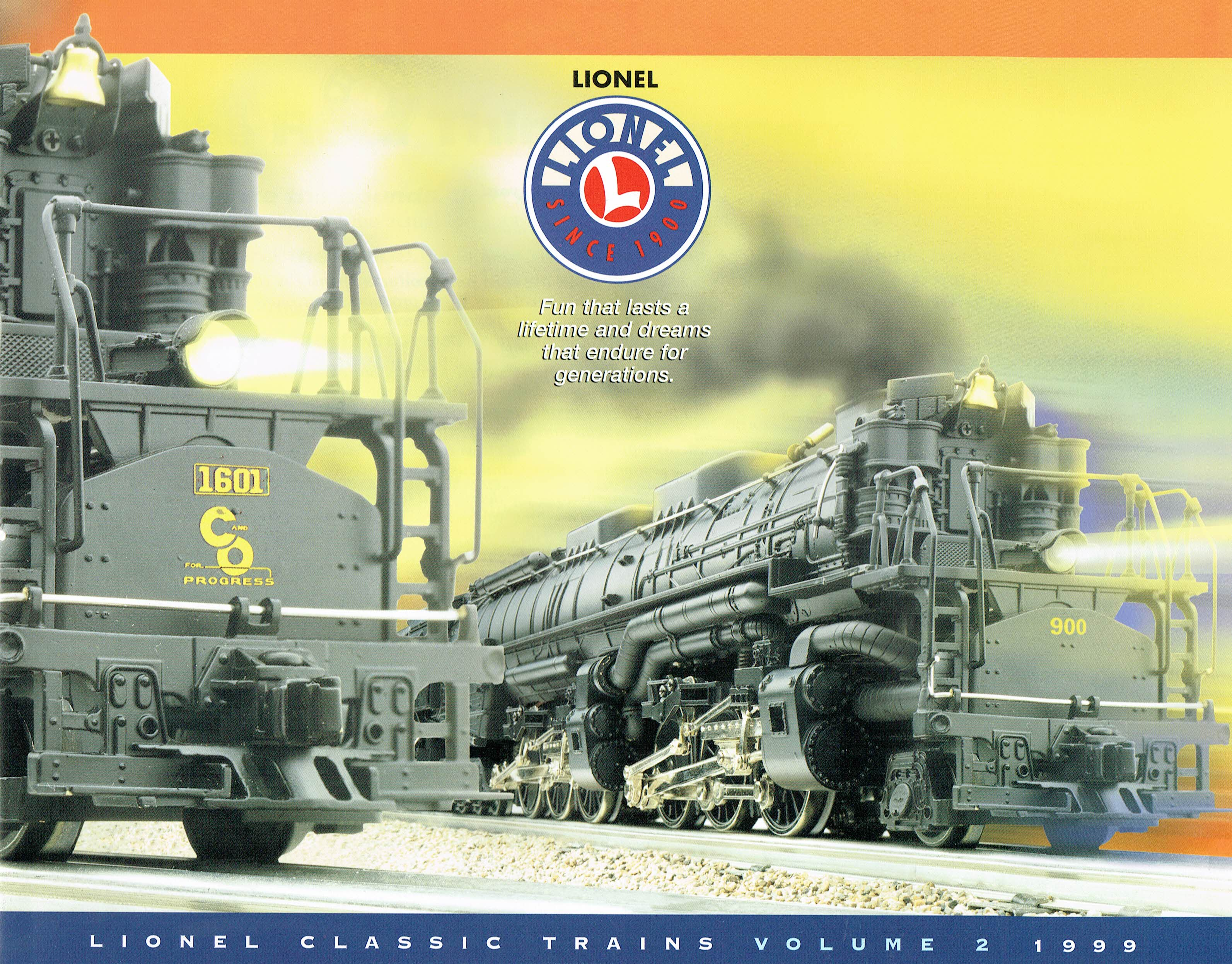 Lionel 1999 Classic Trains Volume 2 Catalog image