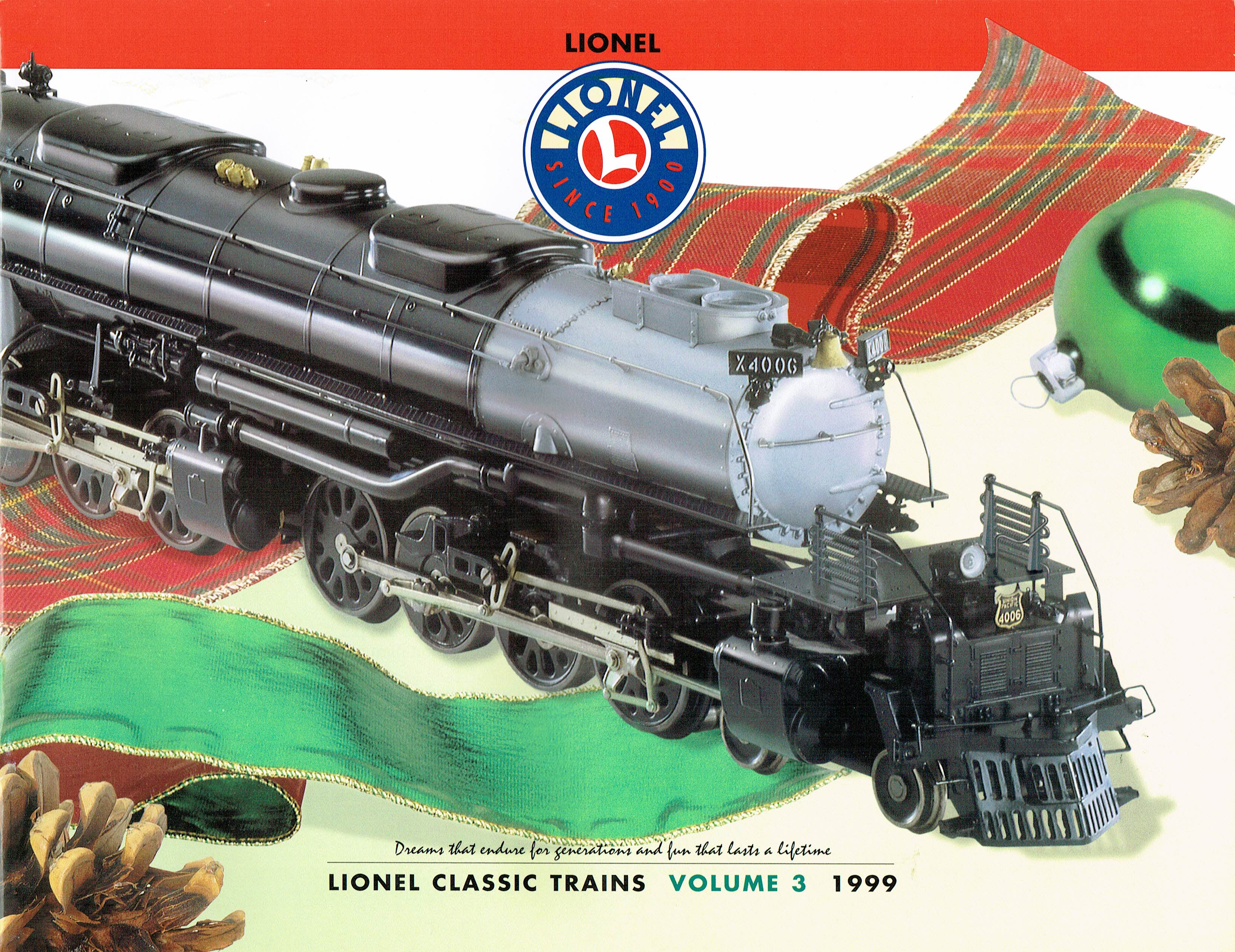 Lionel 1999 Classic Trains Volume 3 Catalog image