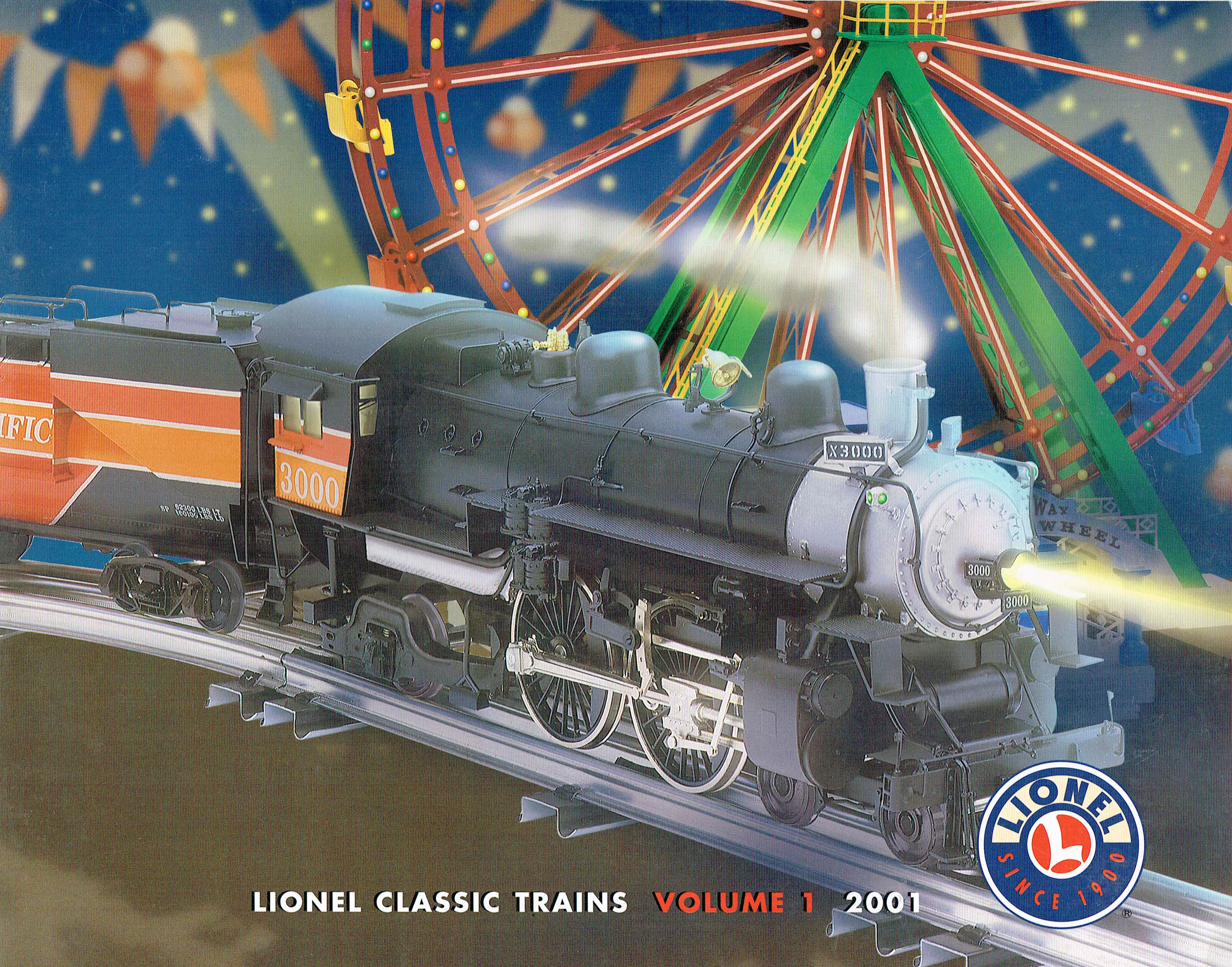 Lionel 2001 Classic Trains Volume 1 Catalog image