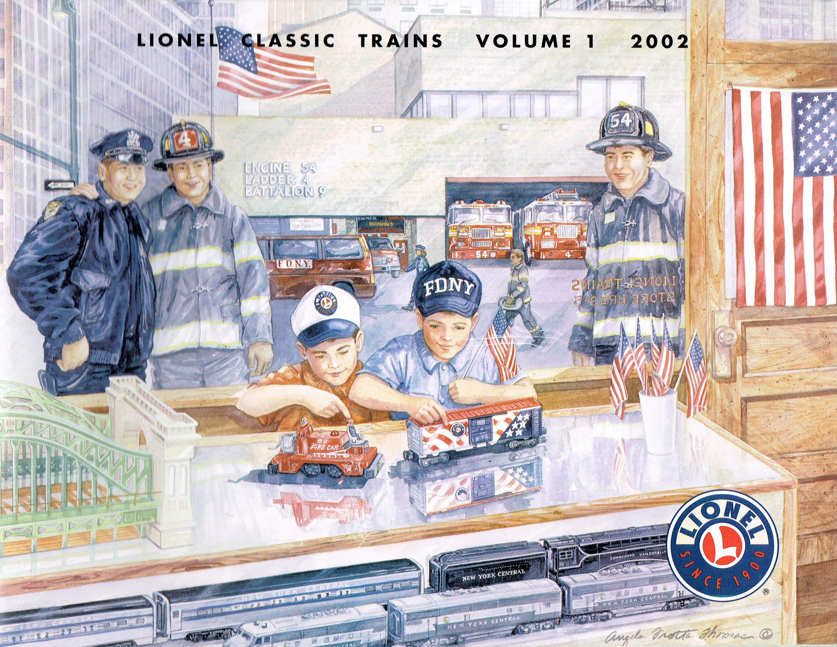 Lionel 2002 Classic Trains Volume 1 Catalog image