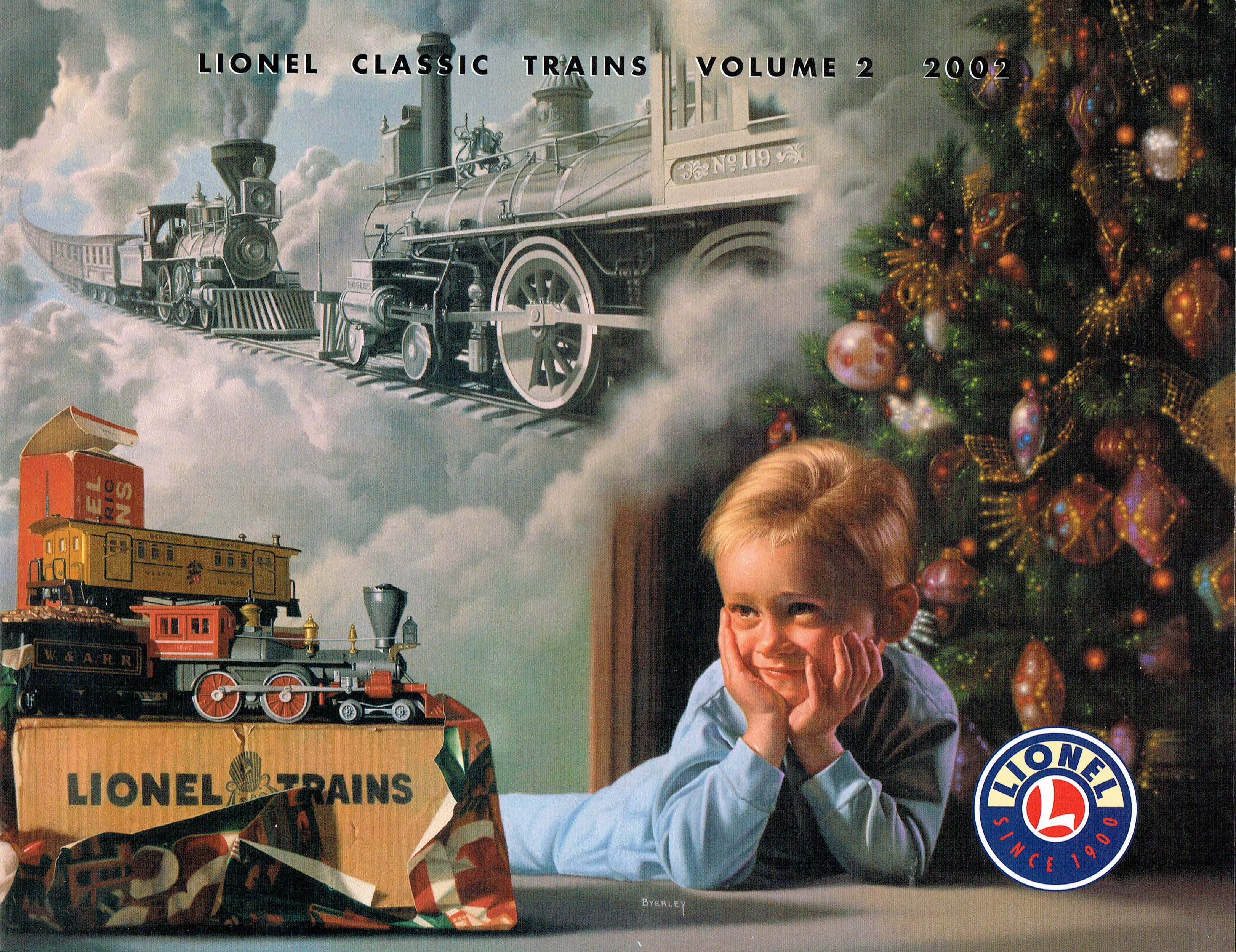 Lionel 2002 Classic Trains Volume 2 Catalog image