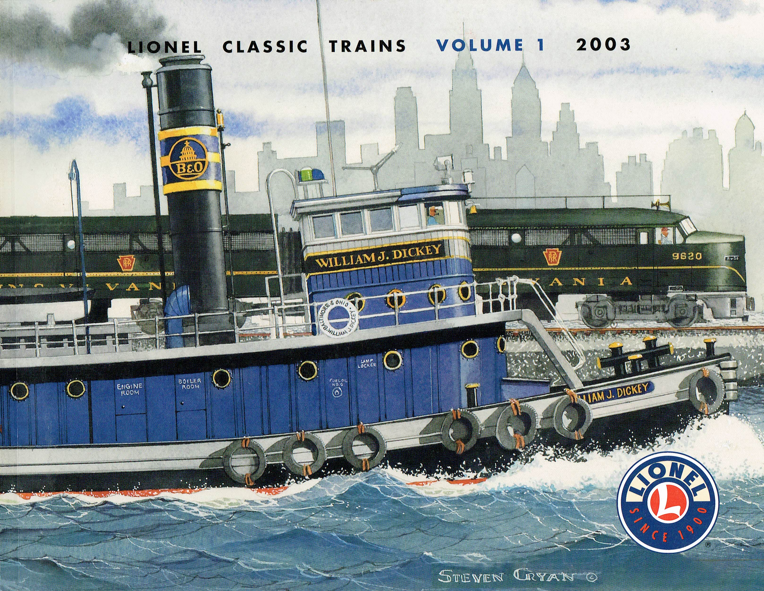 Lionel 2003 Classic Trains Volume 1 Catalog image