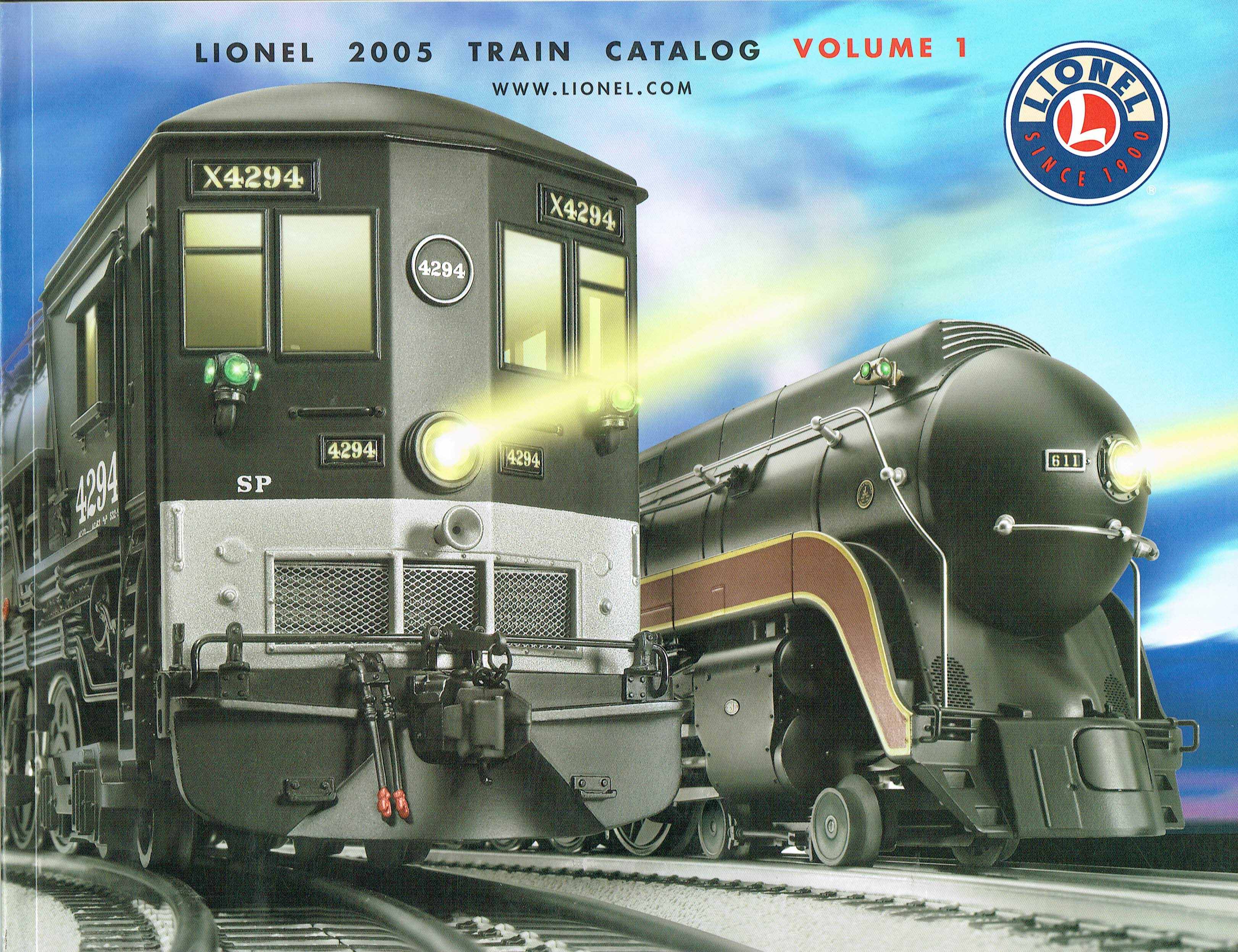 Lionel 2005 Train Catalog Volume 1 image
