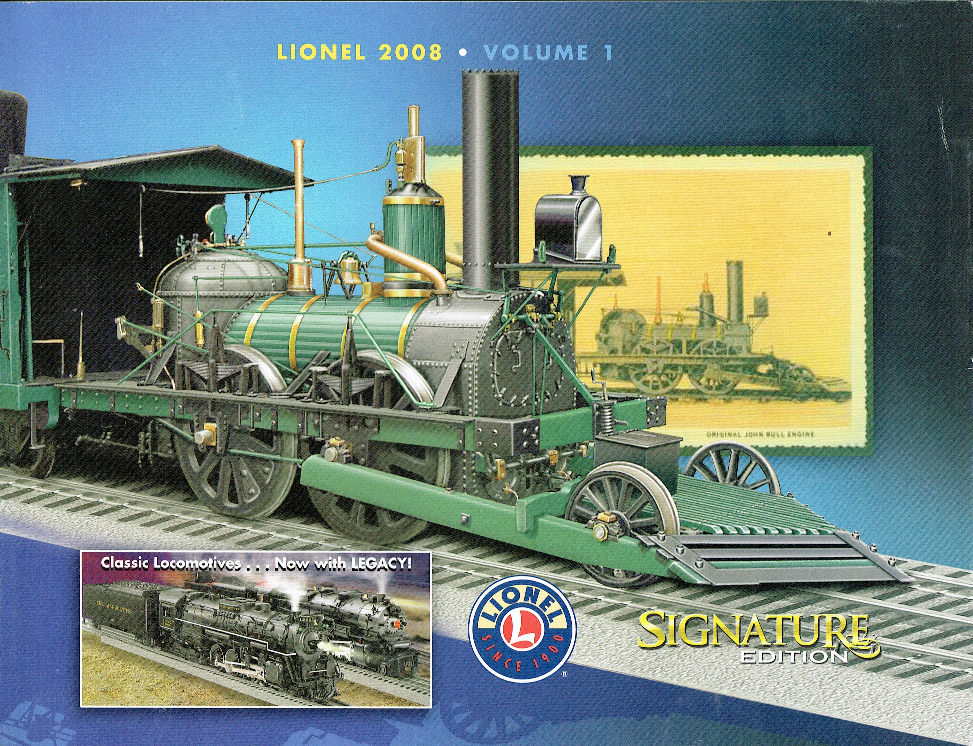 Lionel 2008 Volume 1 Signature Edition Catalog image
