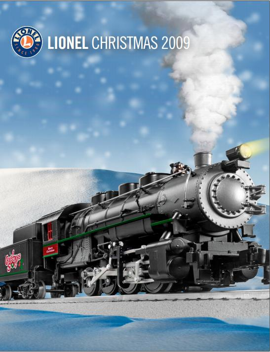 Lionel 2009 Christmas – included in Lionel 2009 Volume II Catalog image