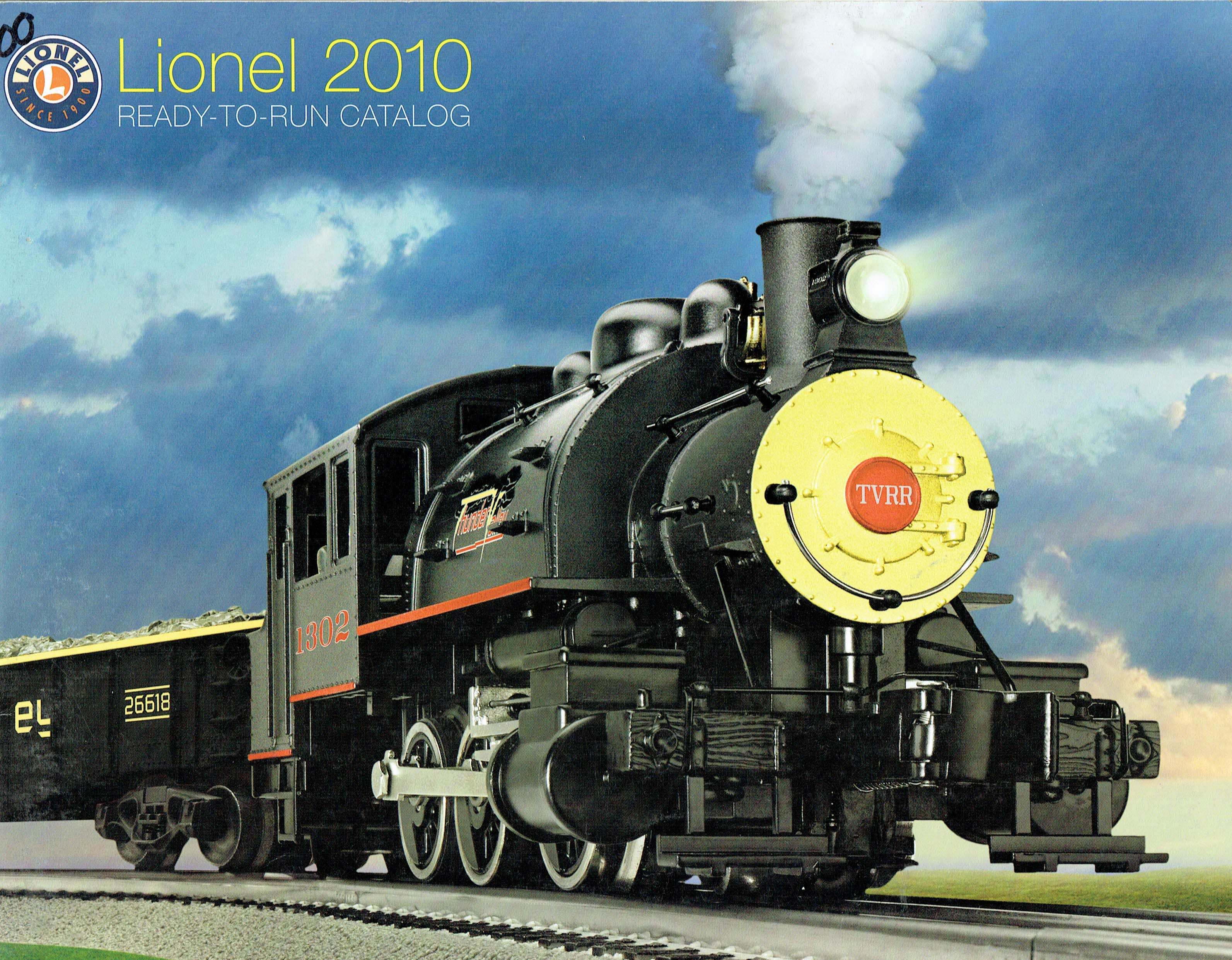 Lionel 2010 Ready-to-Run Catalog image