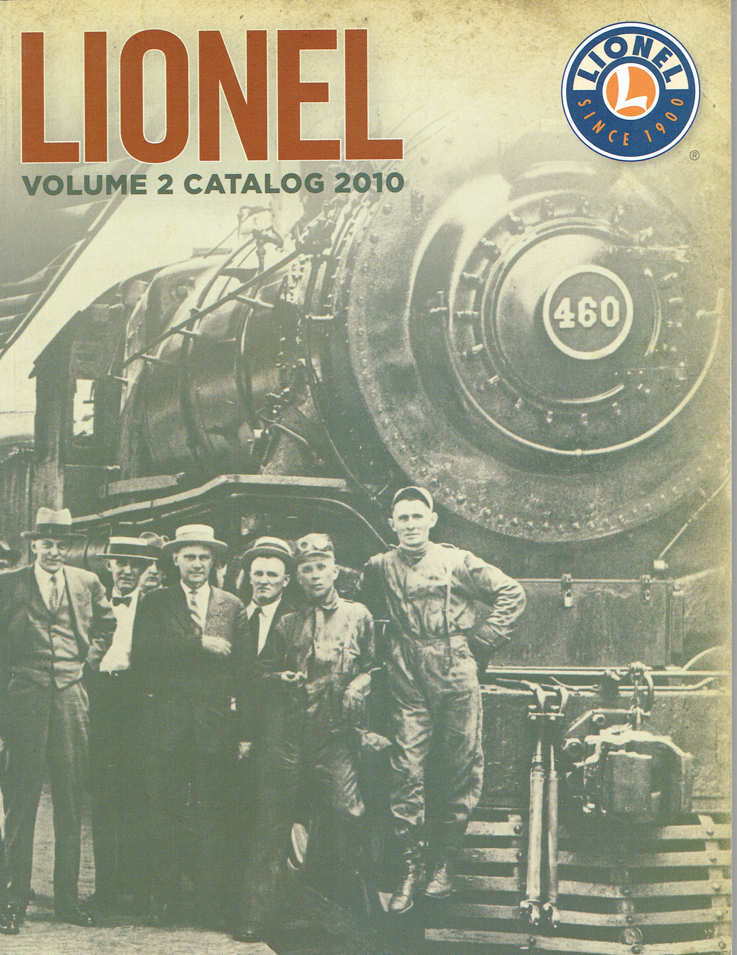 Lionel 2010 Volume 2 Catalog image