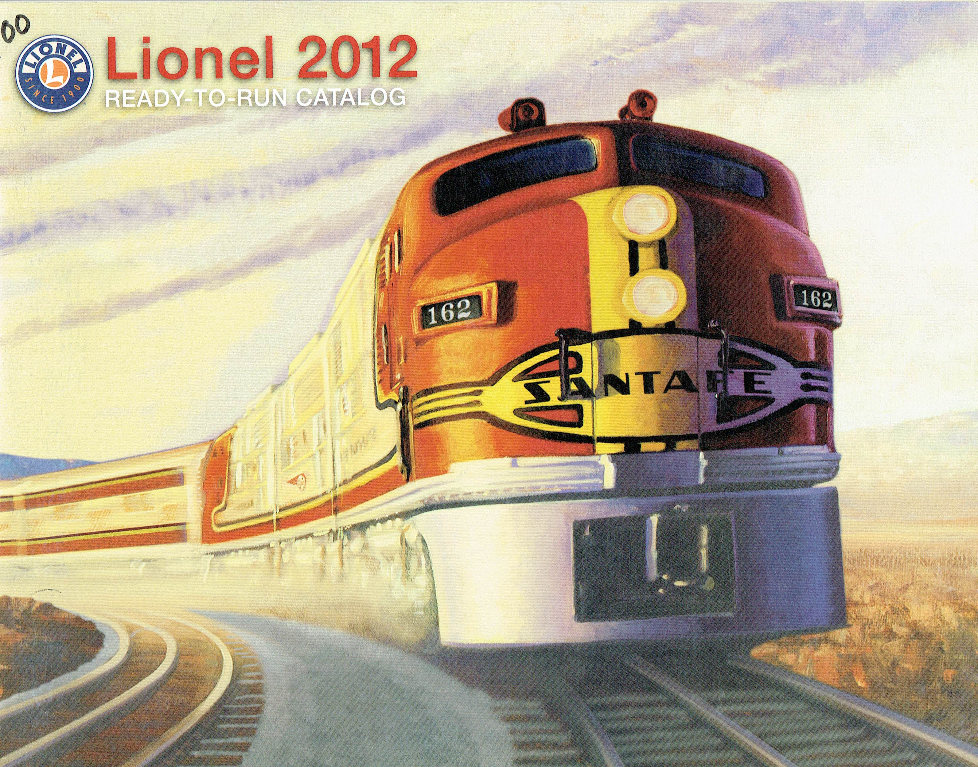 Lionel 2012 Ready-to-Run Catalog image