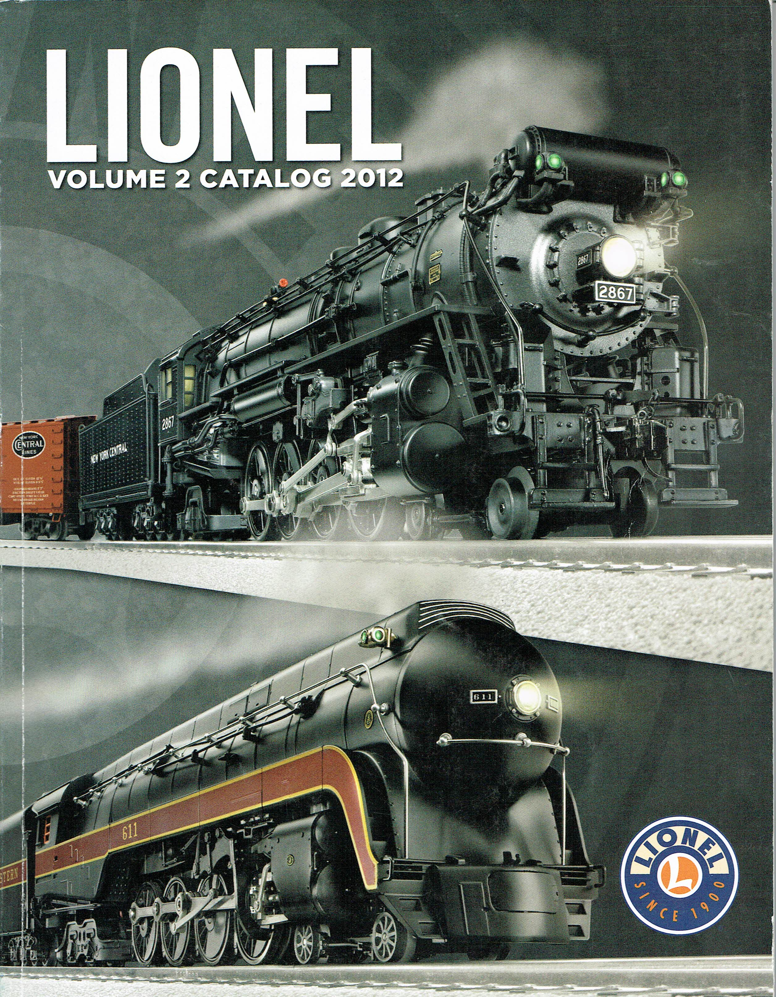 Lionel 2012 Volume 2 Catalog image