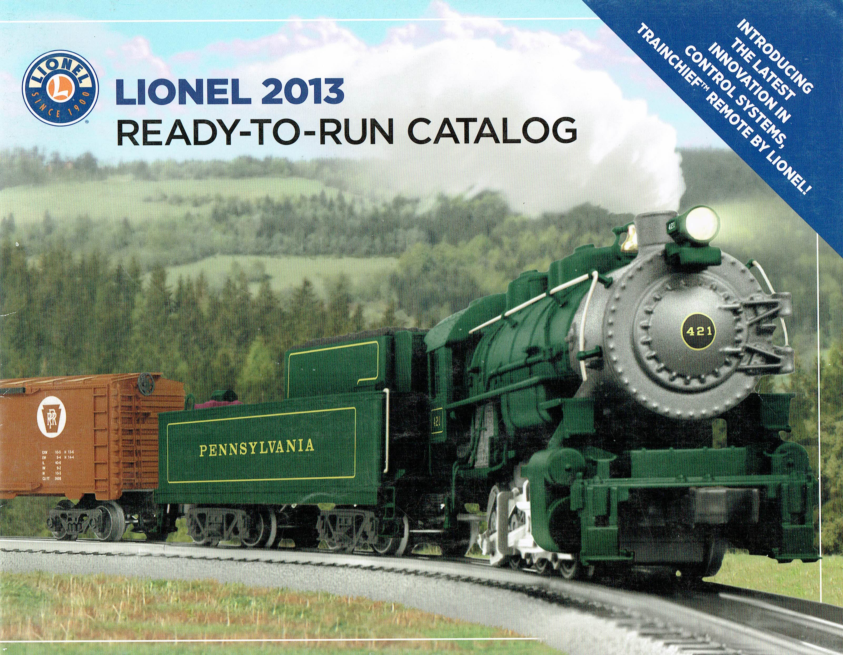 Lionel 2013 Ready-to-Run Catalog image
