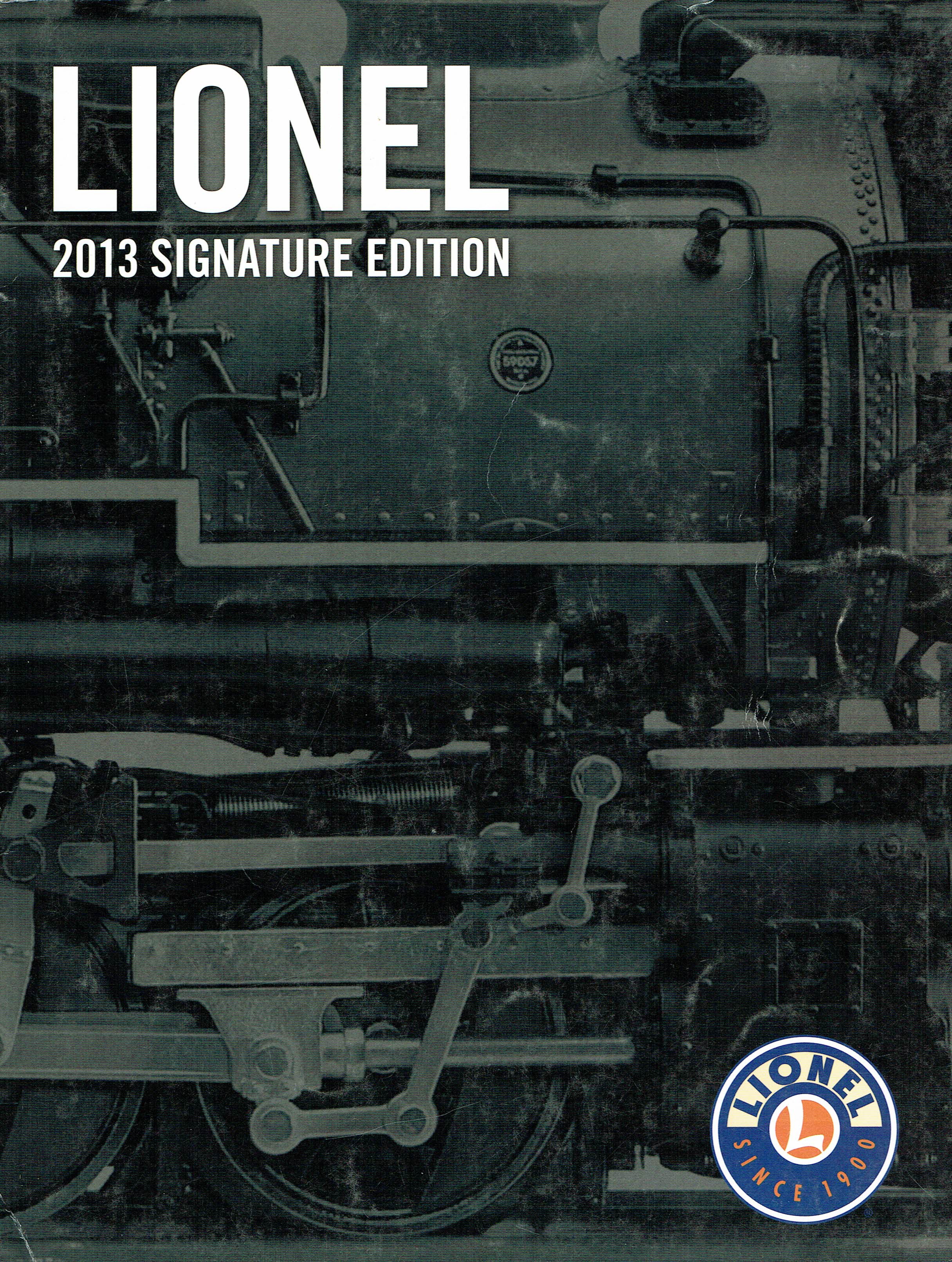 Lionel 2013 Signature Edition Catalog image