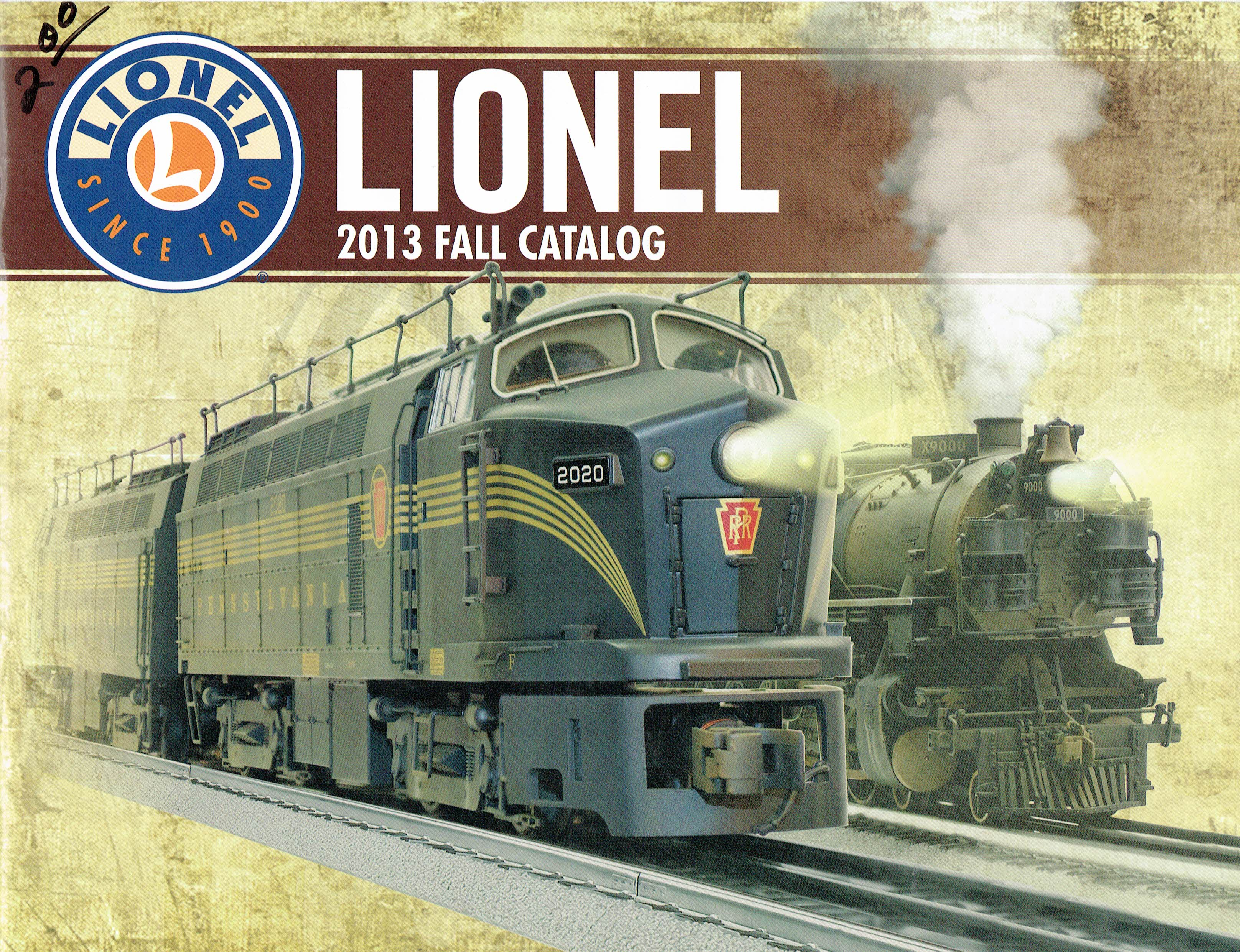 Lionel 2013 Fall Catalog image