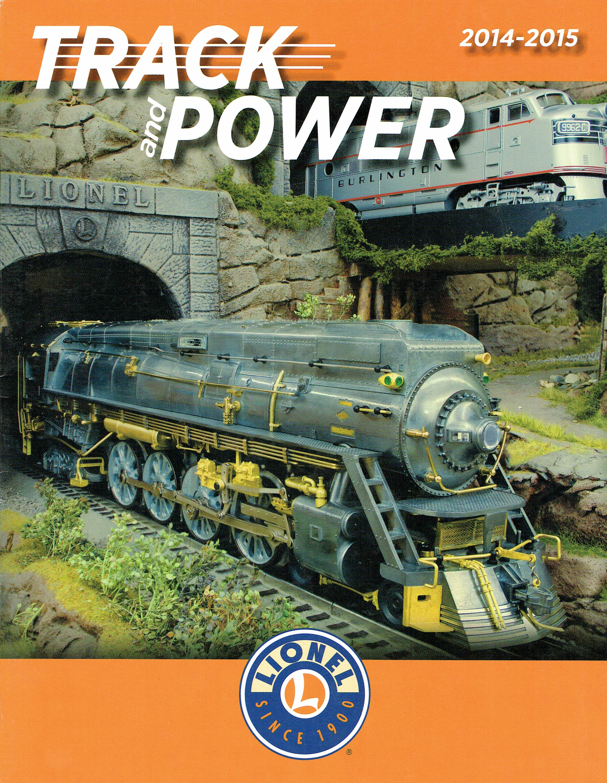 Lionel 2014-2015 Track and Power Catalog image