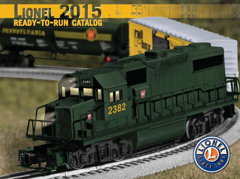 Lionel 2015 Ready-to-Run Catalog image