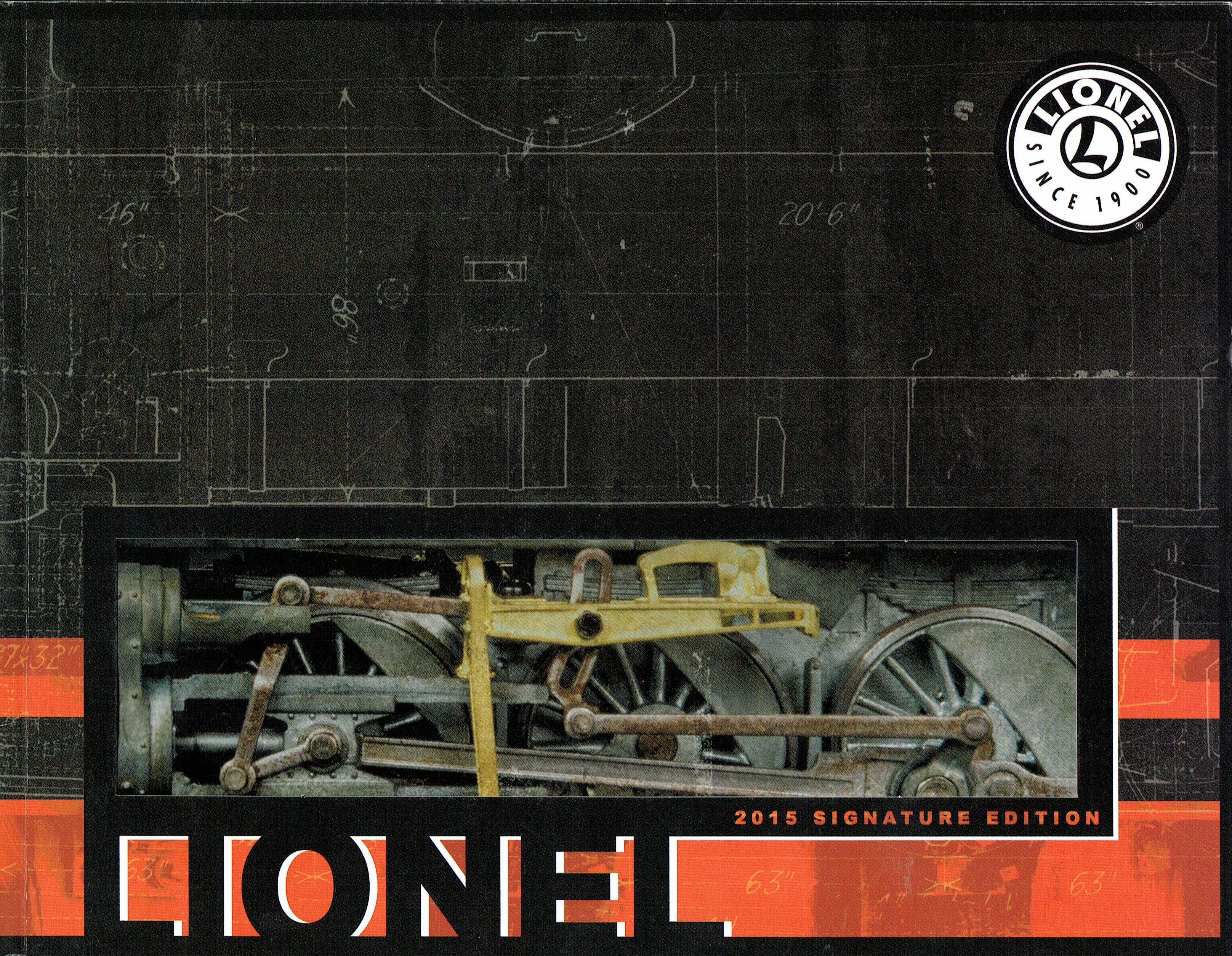Lionel 2015 Signature Edition Catalog image