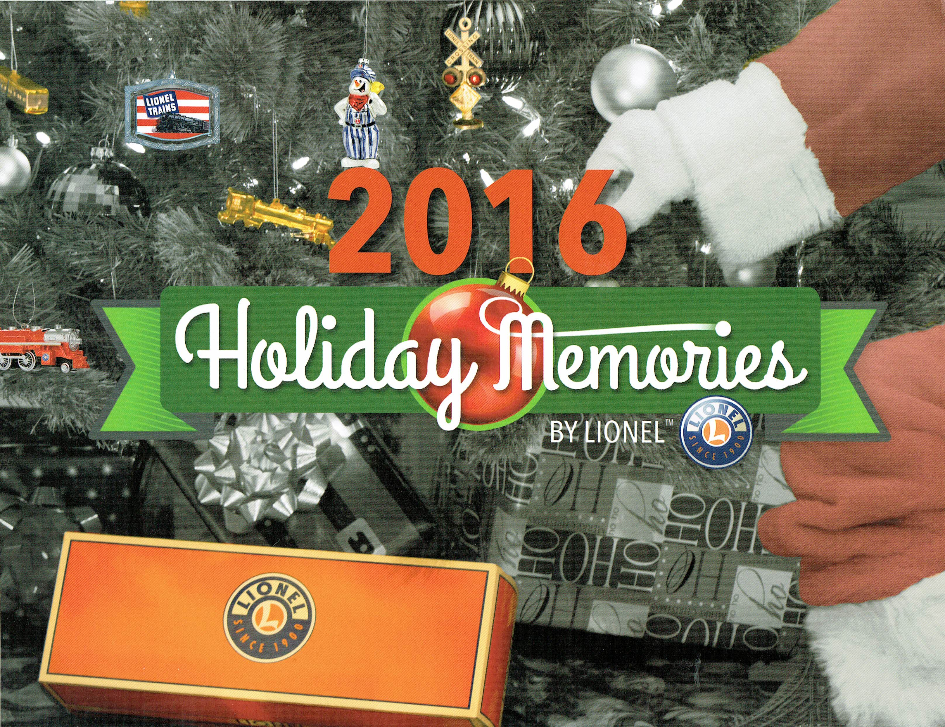 Lionel 2015 Holiday Memories Catalog image