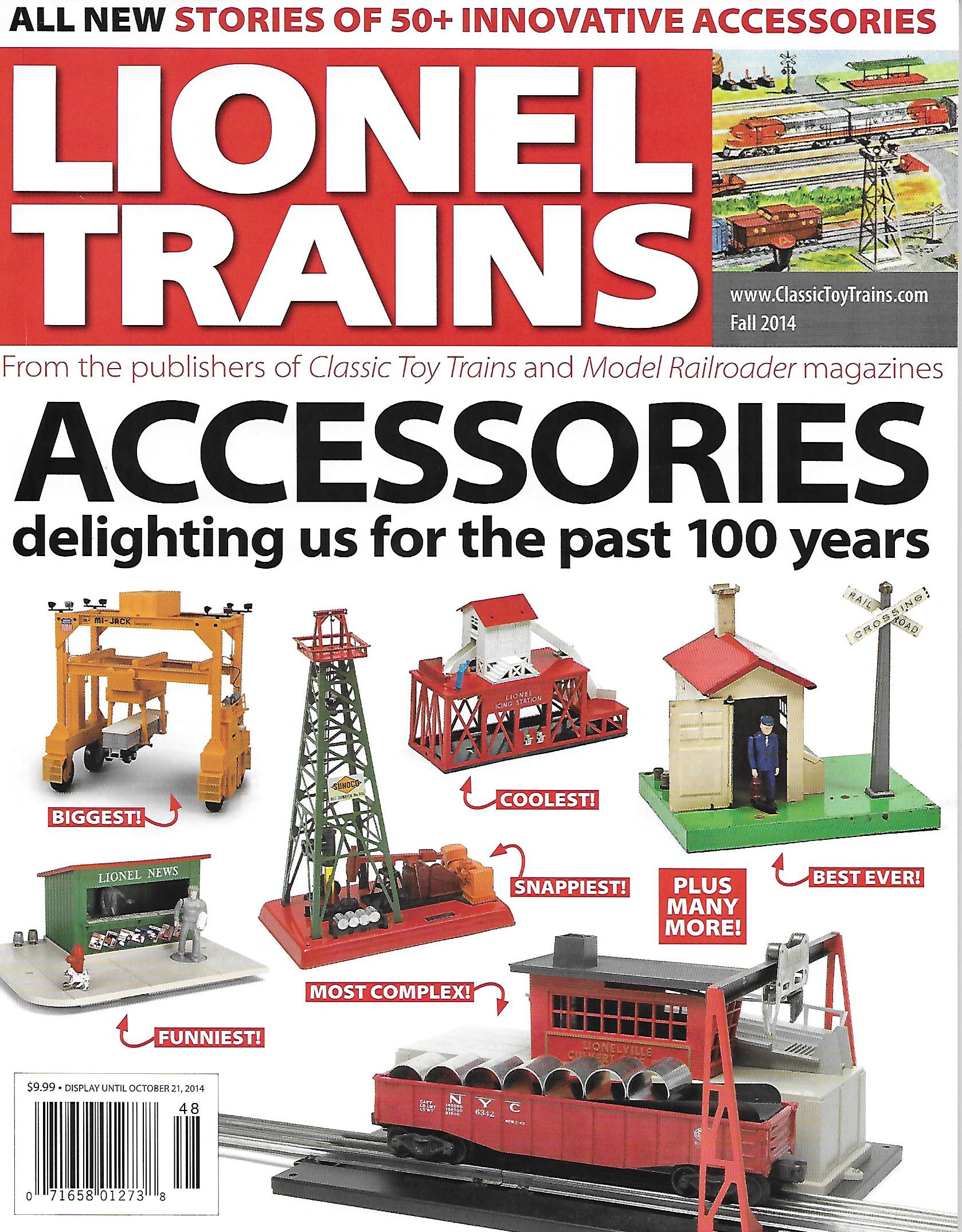 Lionel Trains Accessories (Classic Toy Train Magazine Special Issue) image