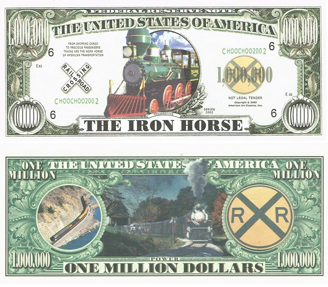 Iron Horse Million Dollar Bill image