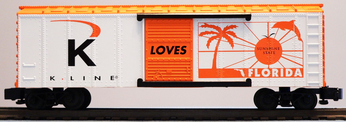 K Line Loves Florida Boxcar image