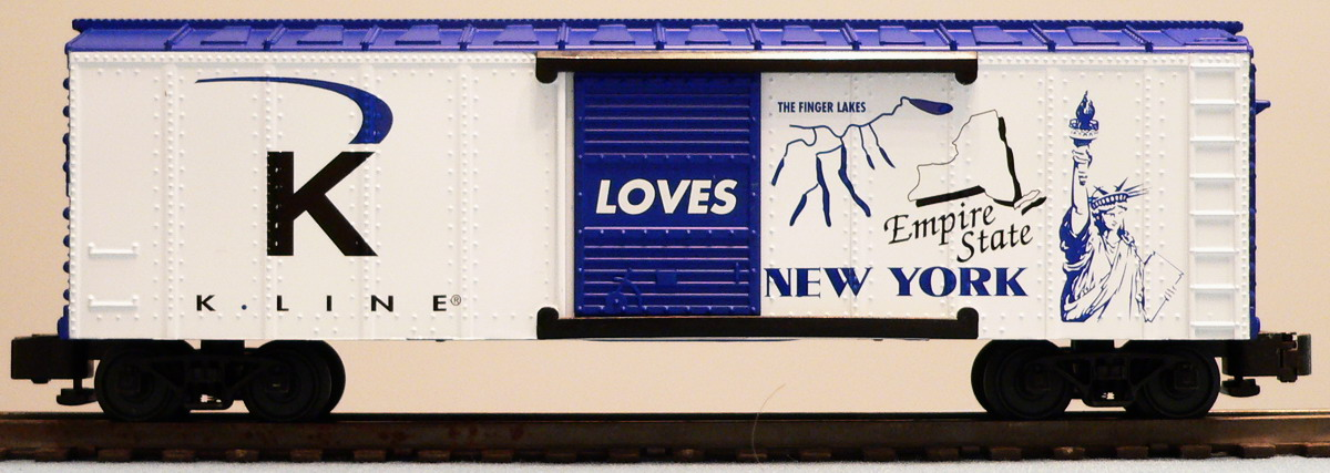 K Line Loves New York Boxcar image