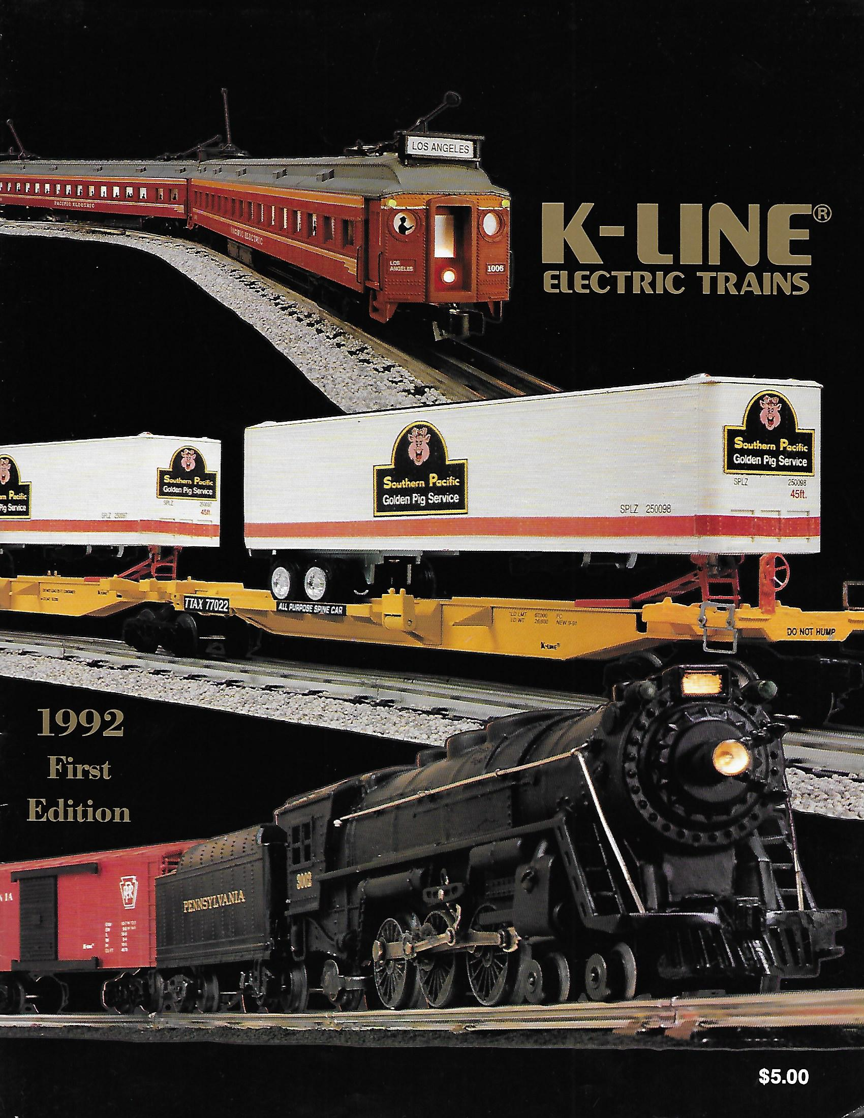 K-Line 1992 First Edition Catalog image