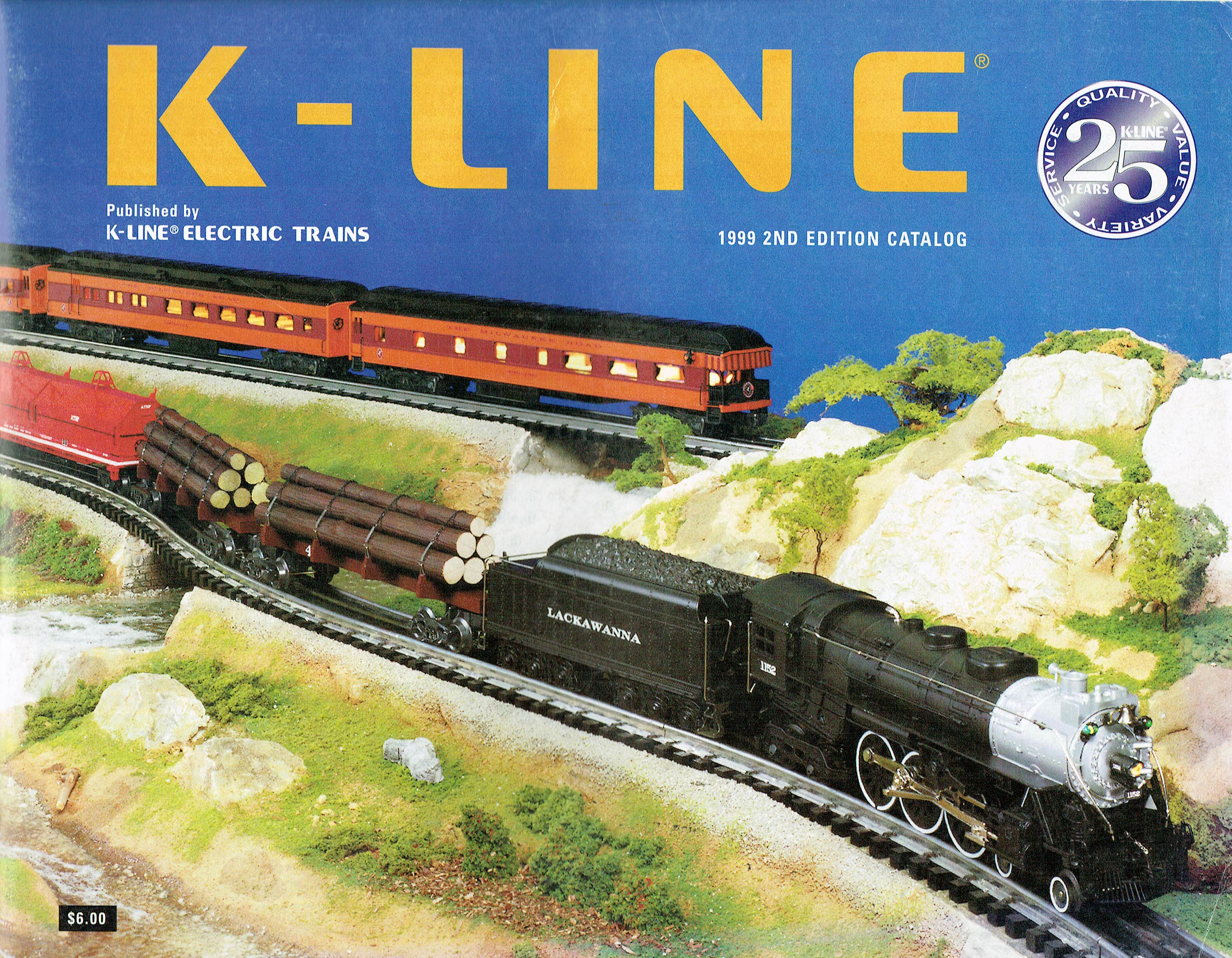 K-Line 1999 2nd Edition Catalog image