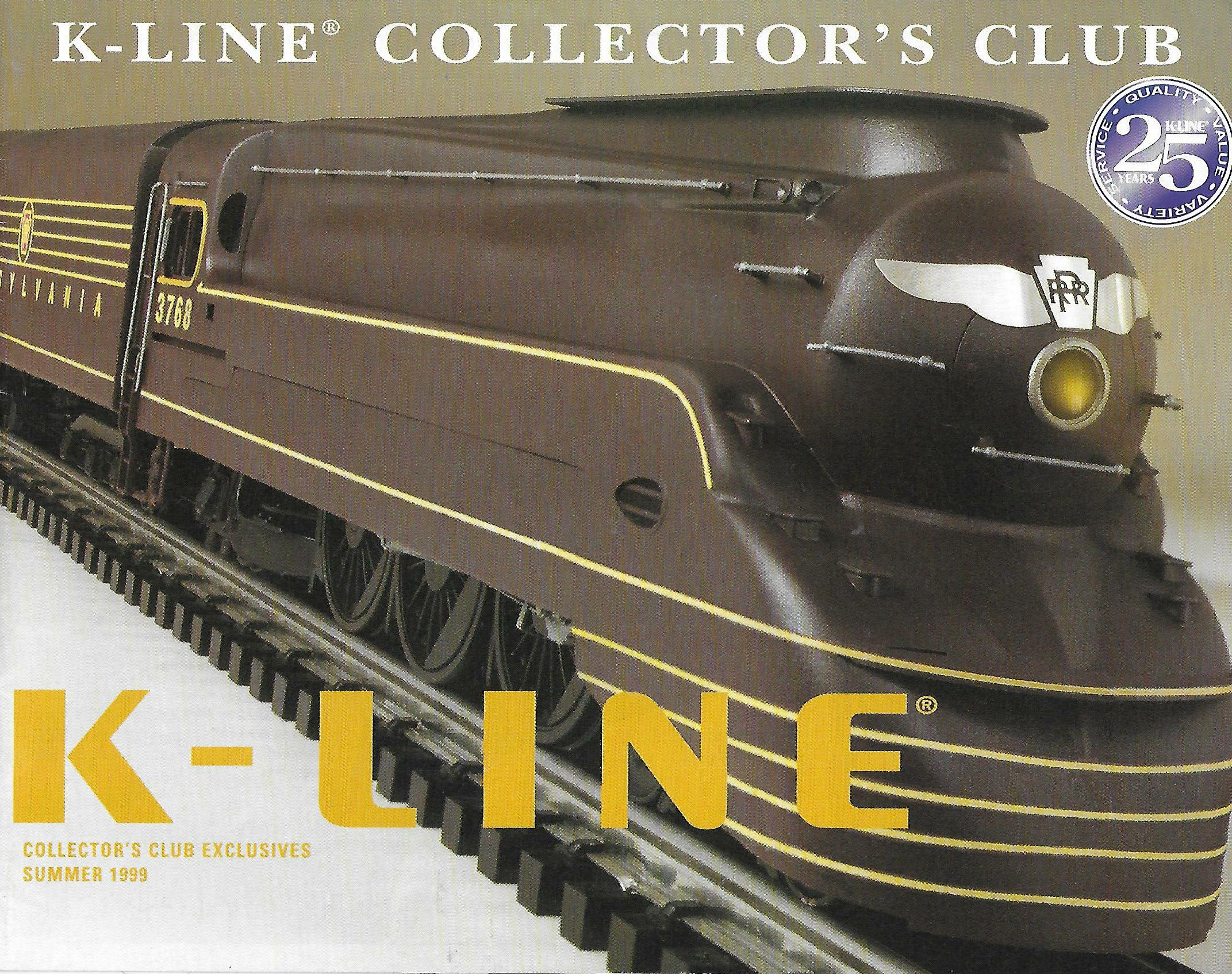 K-Line 1999 Collector's Club Exclusives Catalog image