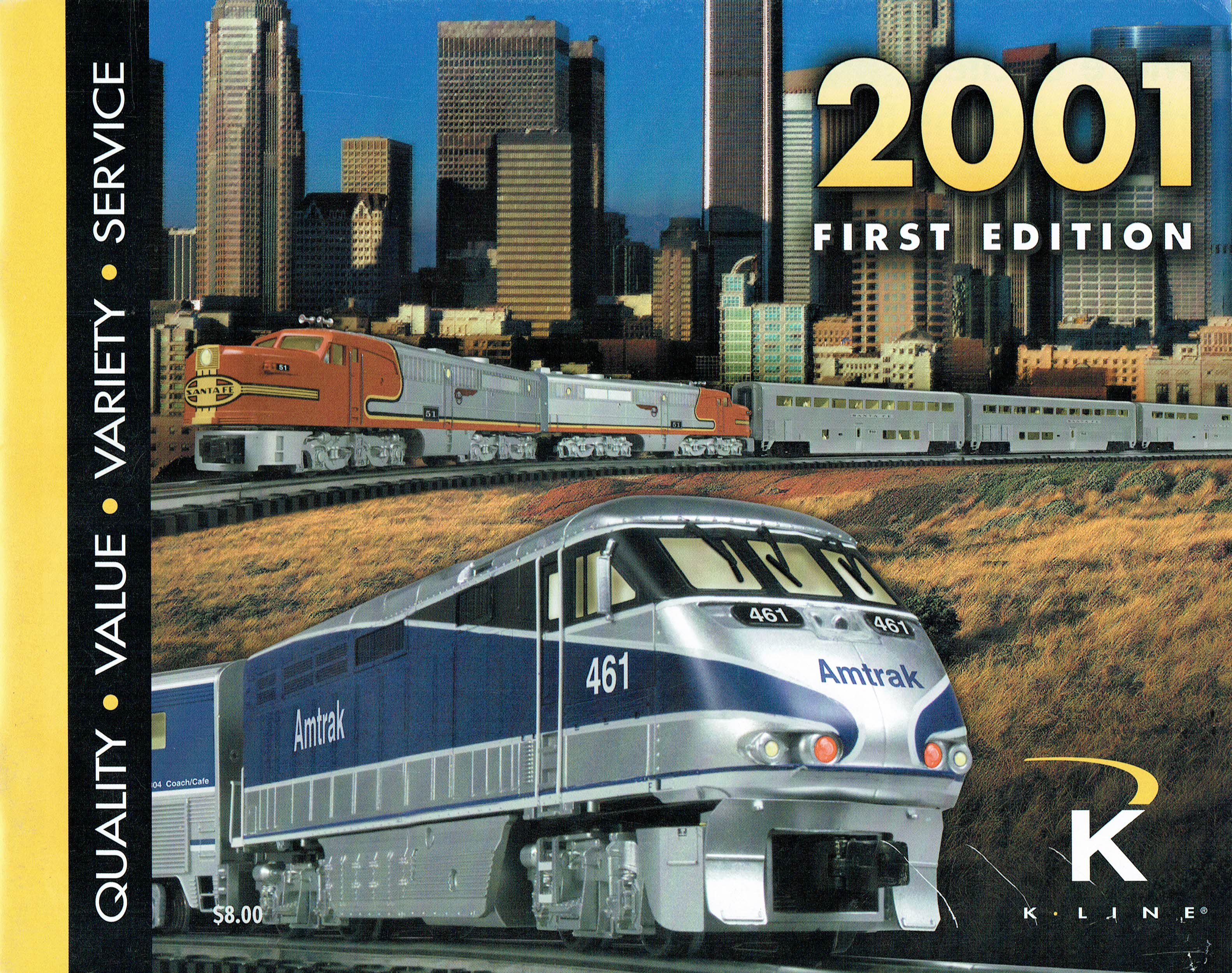 K-Line 2001 First Edition Catalog image