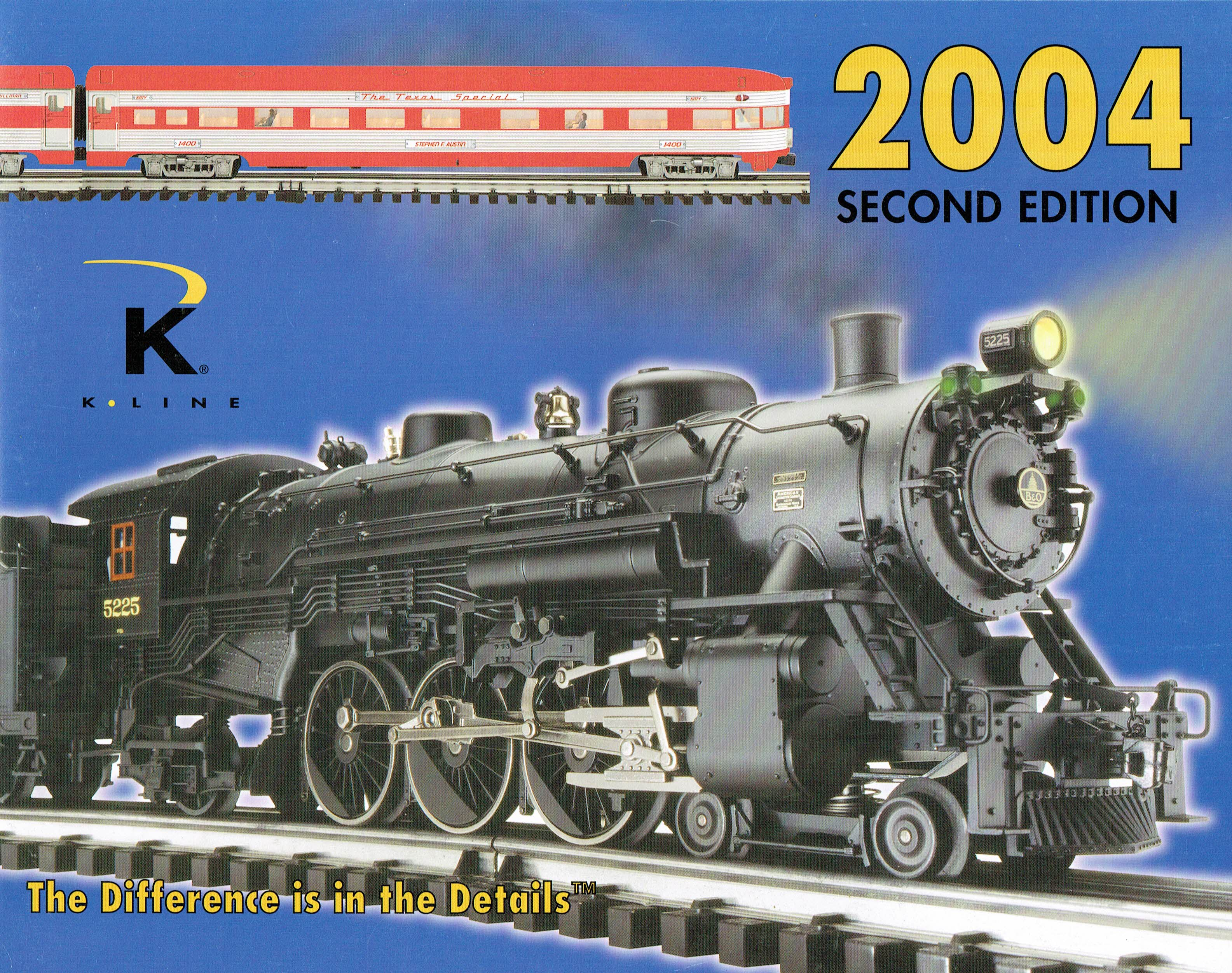 K-Line 2004 Second Edition Catalog image