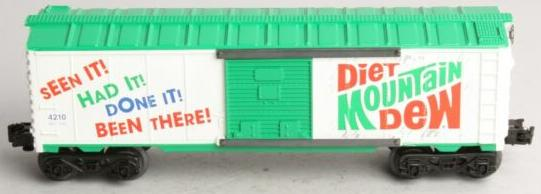 Diet Mountain Dew Boxcar image