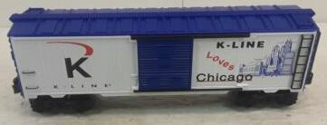 K-Line Loves Chicago Boxcar image