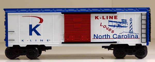 K-Line Loves North Carolina Boxcar image