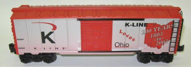K-Line Loves Ohio Boxcar image