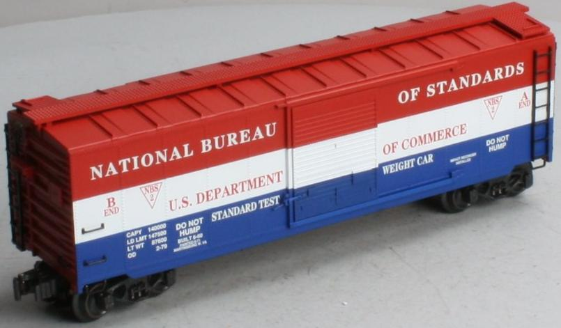 NBS Dept of Commerce Standards Boxcar image