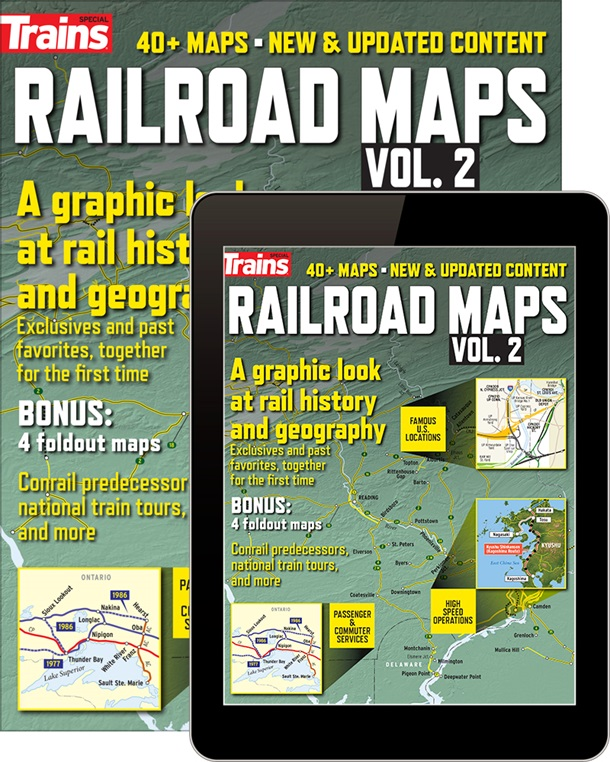 Railroad Maps Volume 2 (Trains Magazine Special Issue) image