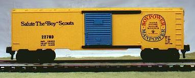 Salute The Boy Scouts Box Car image