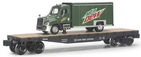 New York Central Flatcar with Mtn. Dew® Truck image