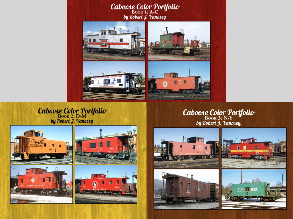 Caboose Color Portfolio Books 1-3 Bundle (eBooks) image