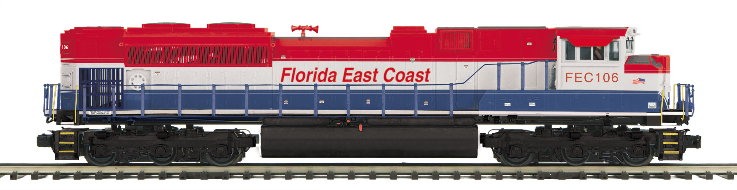 Florida East Coast (Red/White/Blue) SD70M-2 Diesel Engine image