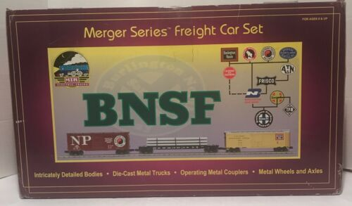 Burlington Northern Merger Series Set (20-90007) box image