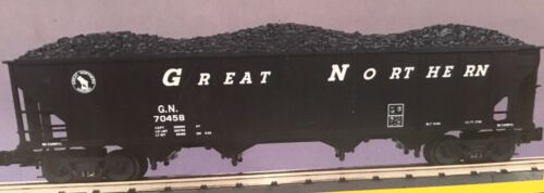 Great Northern 4-Bay Hopper w/Coal Load image